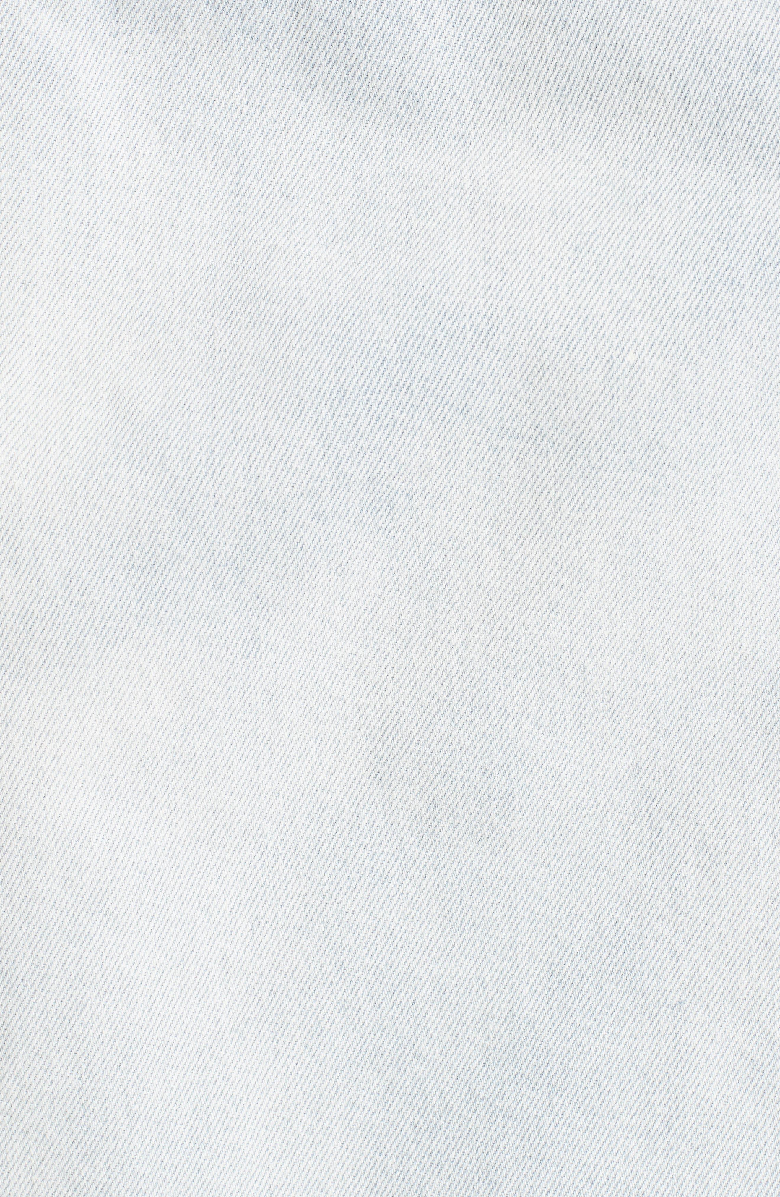Alternate Image 5  - Levi's® Made & Crafted™ Type II Trucker Raw Edge Denim Jacket