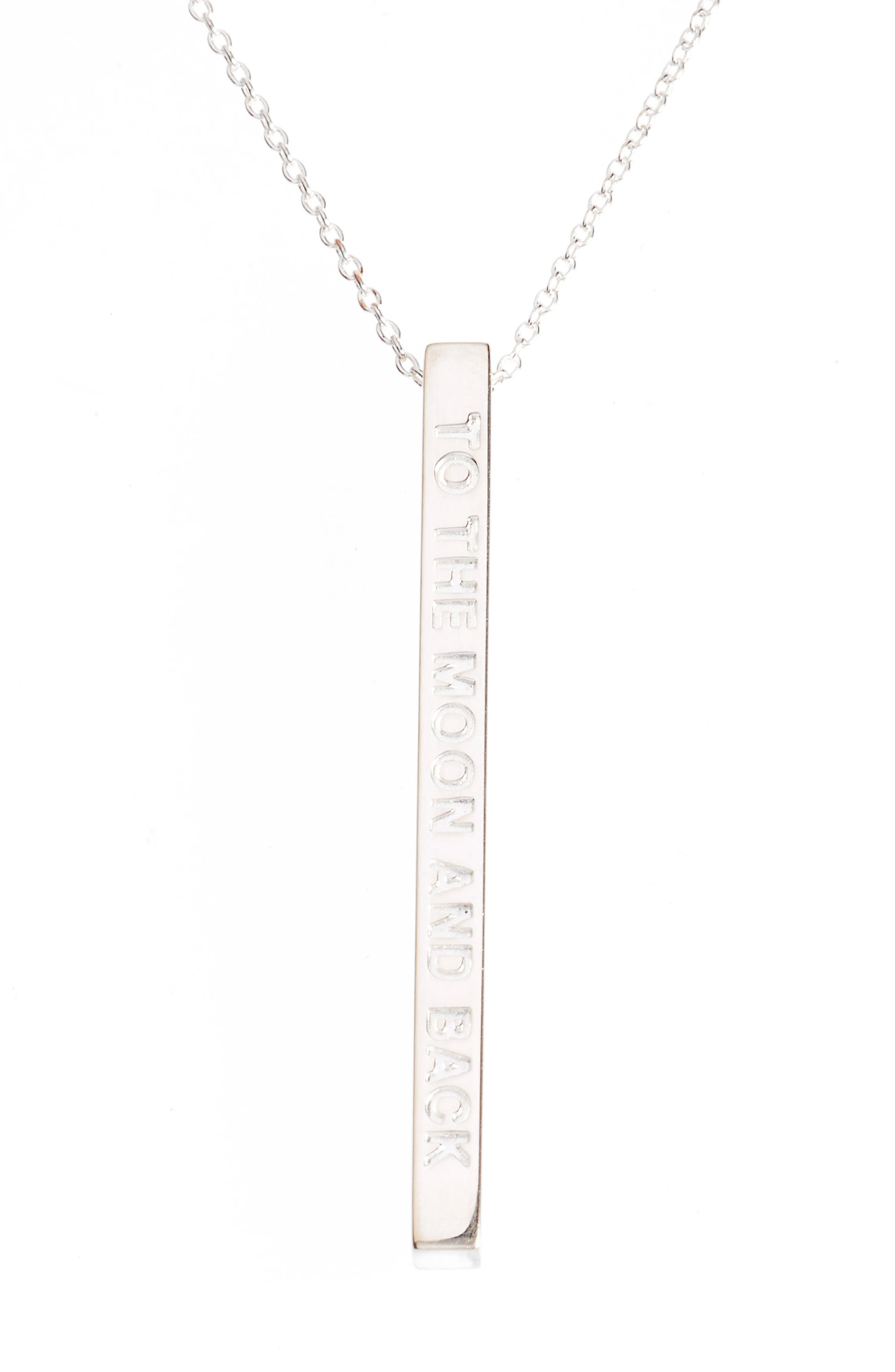 MANTRABAND To the Moon & Back Pendant Necklace