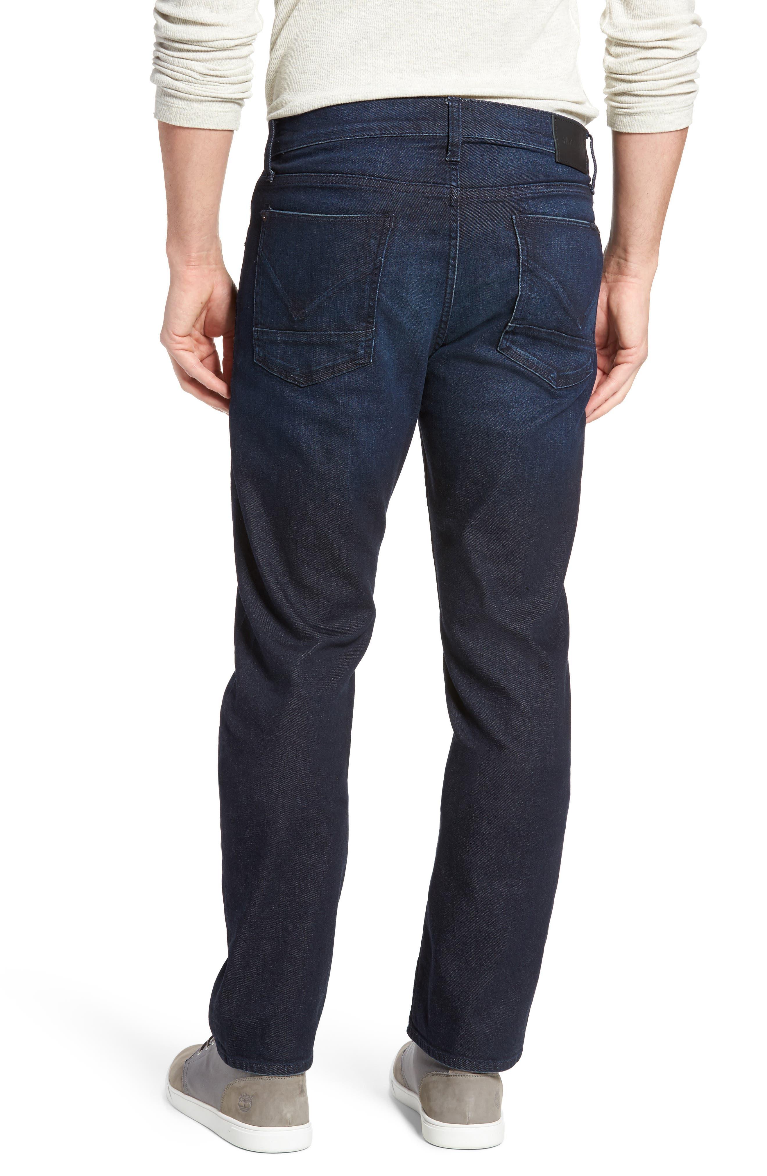 Alternate Image 2  - Hudson Jeans Byron Slim Straight Leg Jeans (Viral)