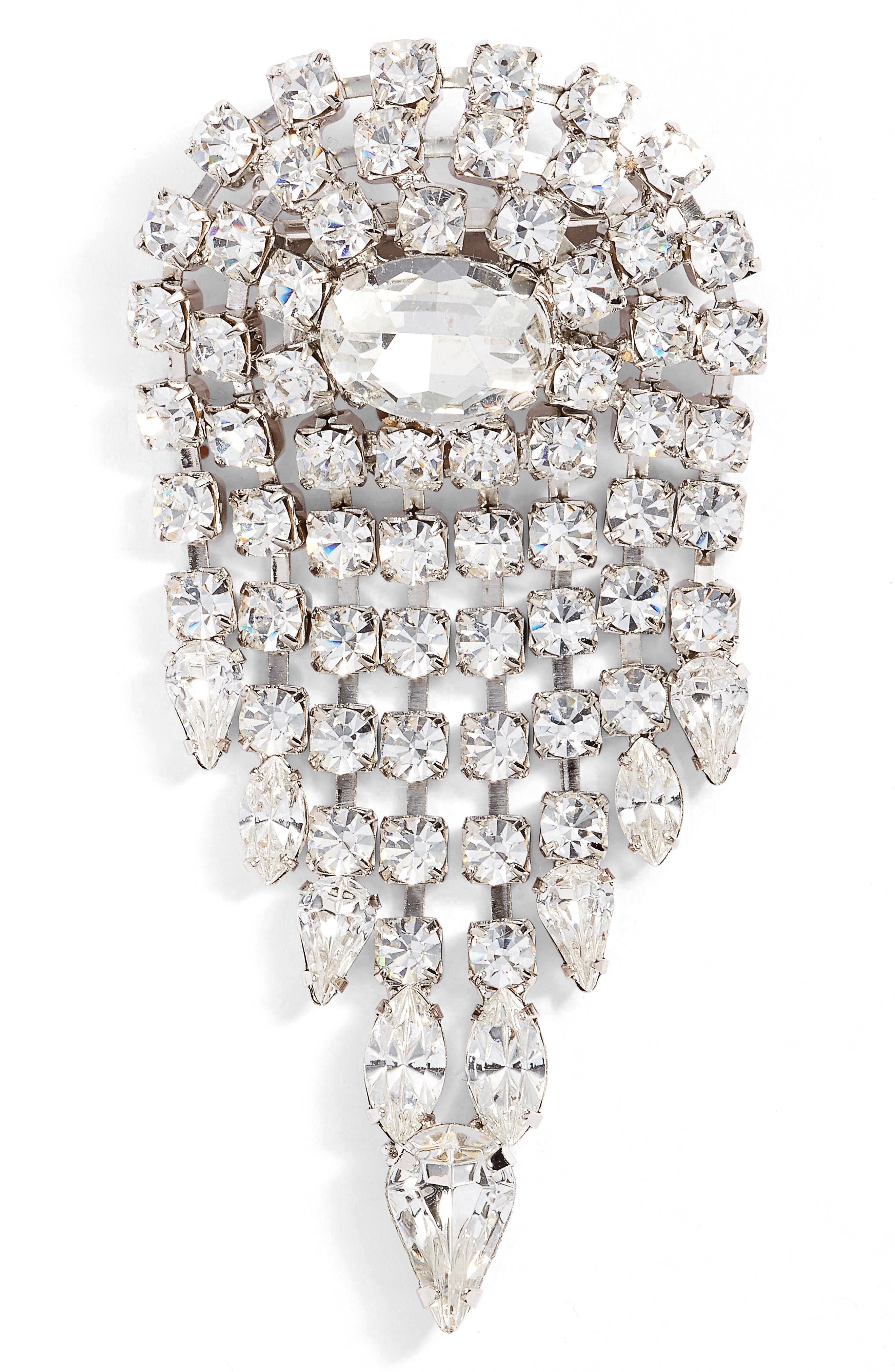 CRISTABELLE Deco Crystal Pin