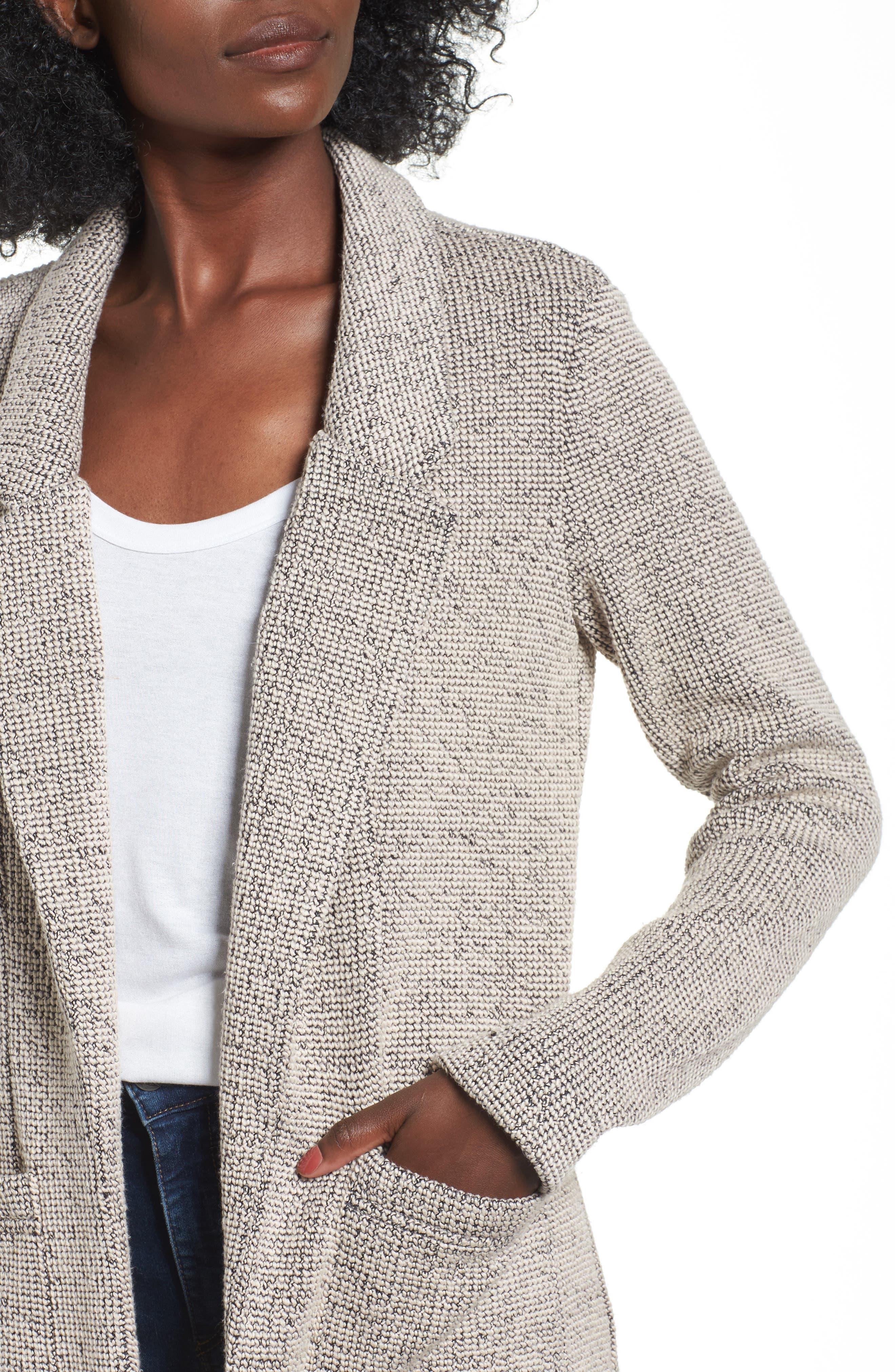 Alternate Image 4  - ASTR the Label Tweed Blazer