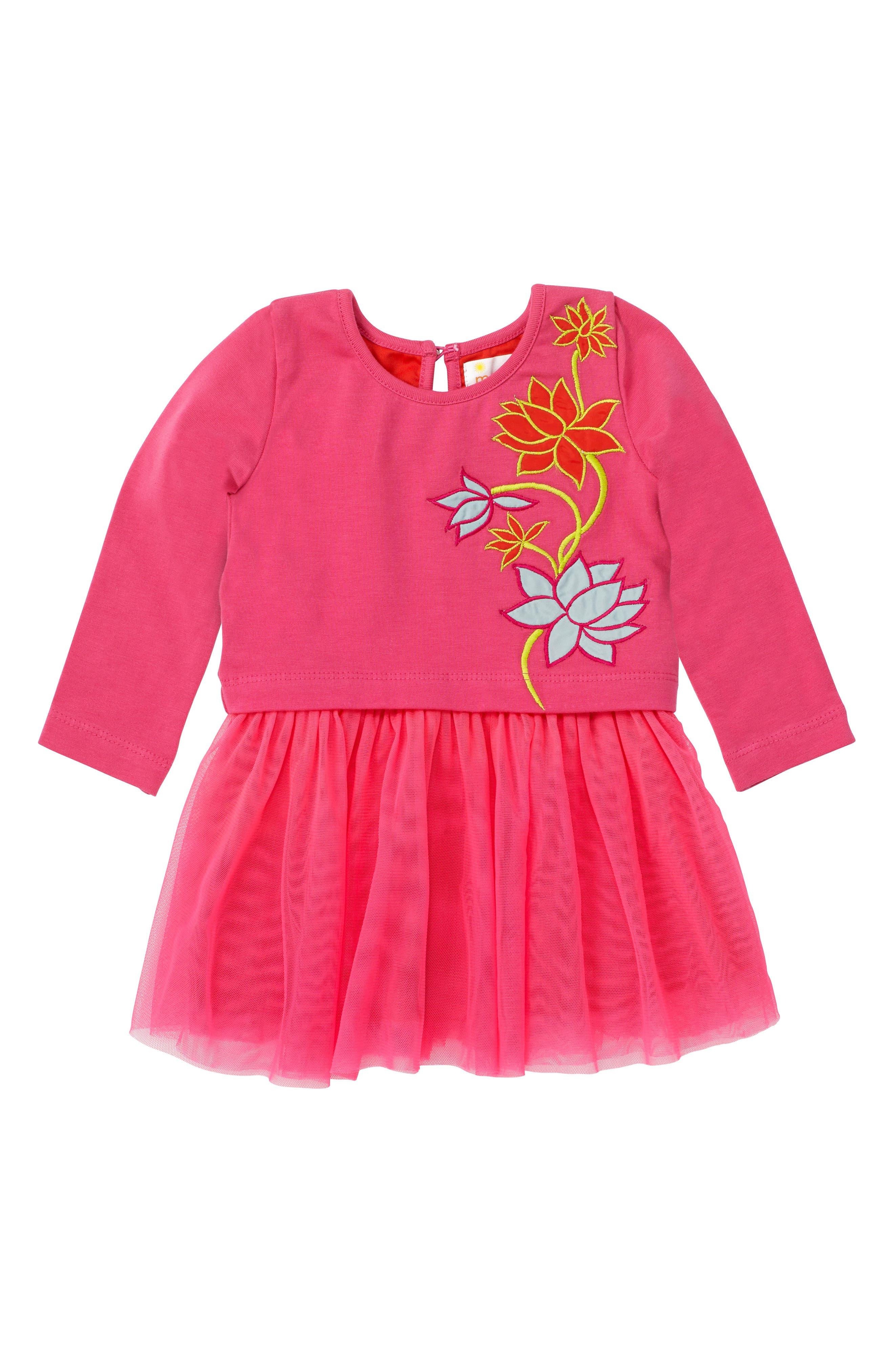 Masalababy Vine Tulle Dress (Baby Girls)