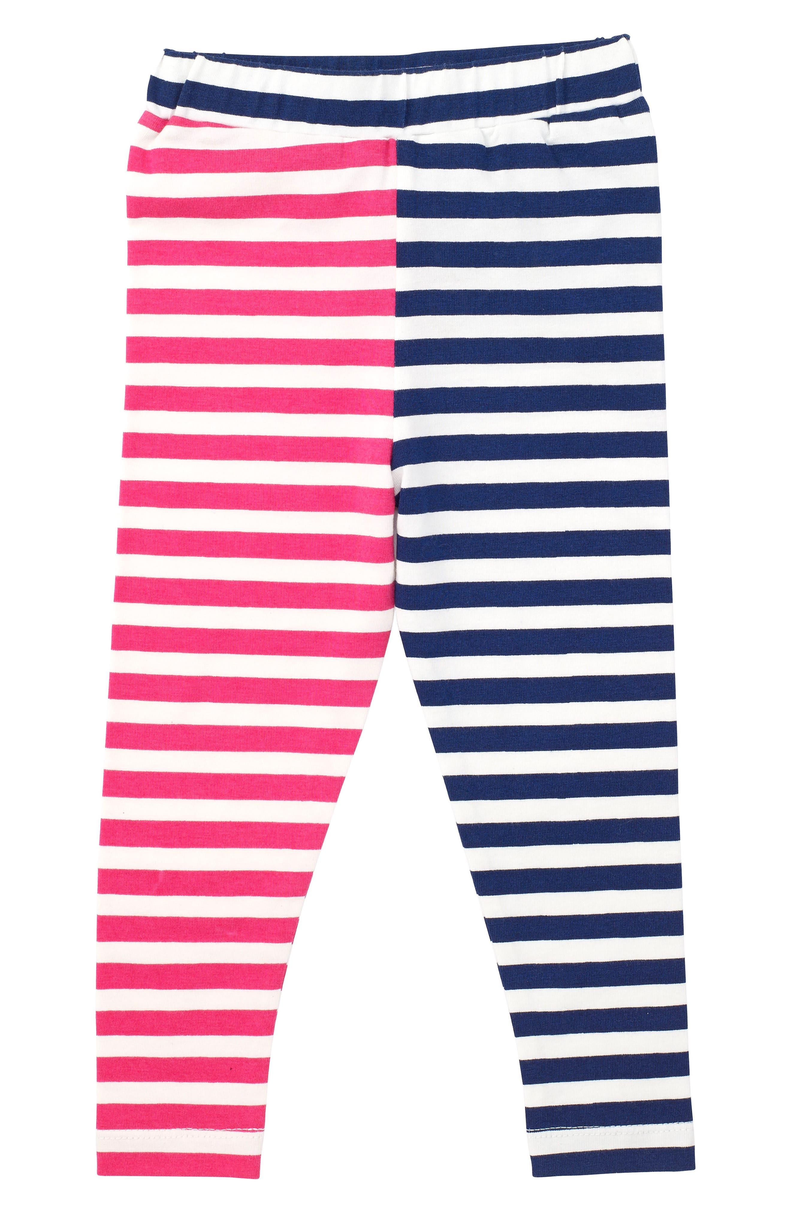 MASALABABY Stripe Stretch Organic Cotton Leggings