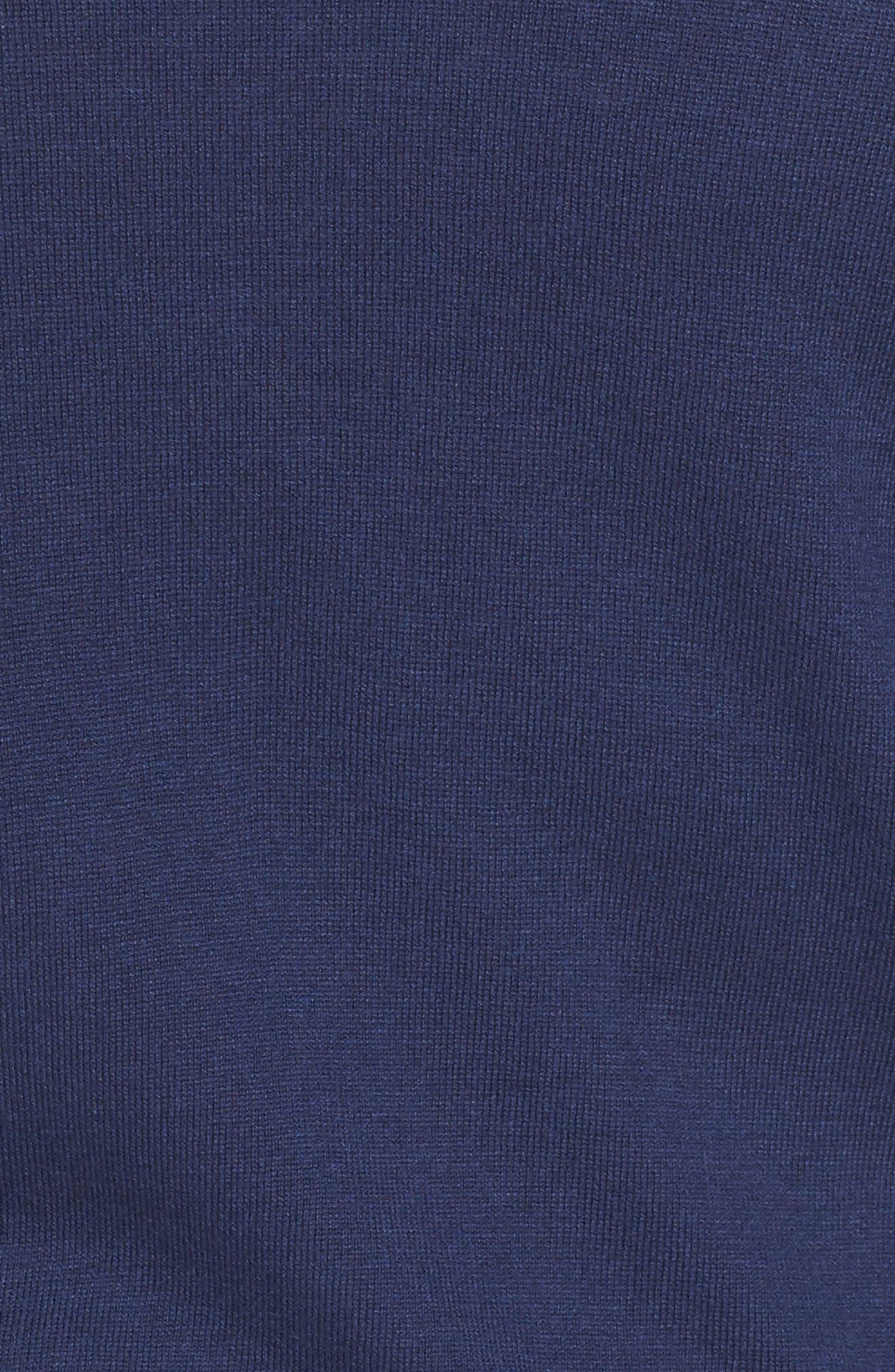 Alternate Image 5  - Sejour Crop Open Front Cardigan (Plus Size)