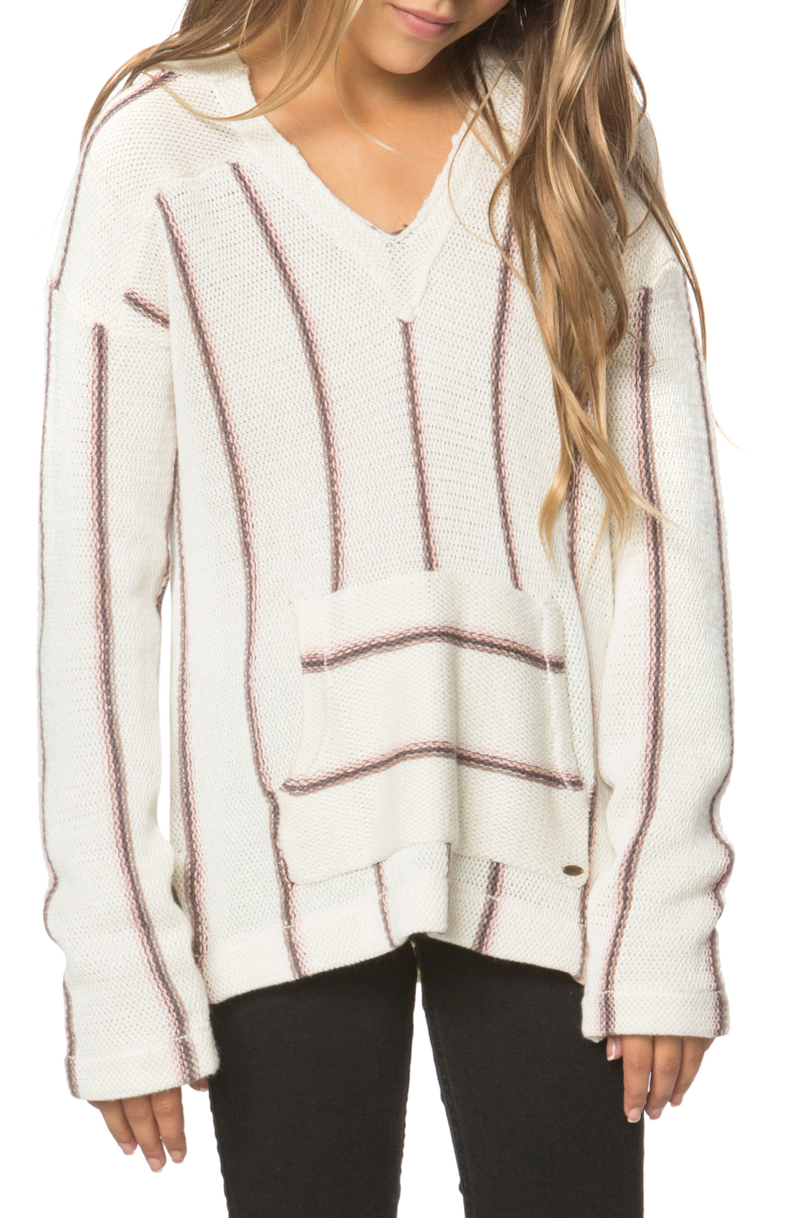 Ashlynn Hooded Sweater,                         Main,                         color, Naked