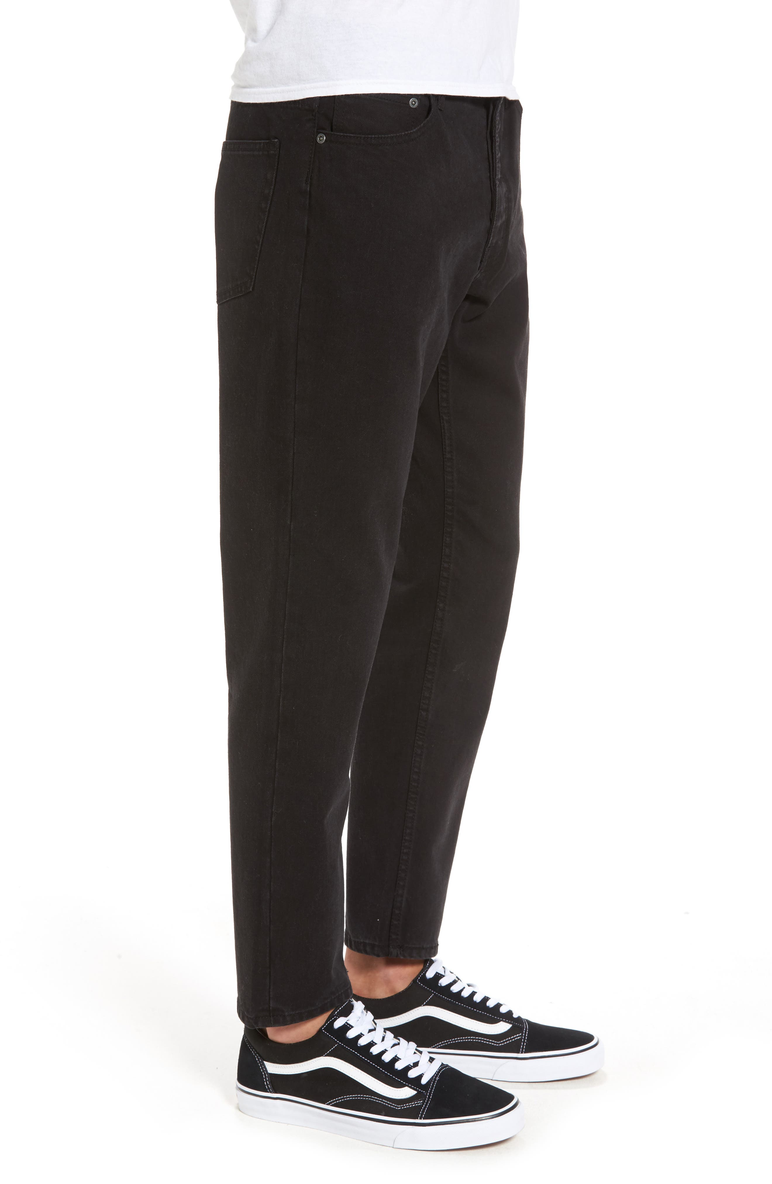 In Law Skinny Fit Jeans,                             Alternate thumbnail 3, color,                             Black