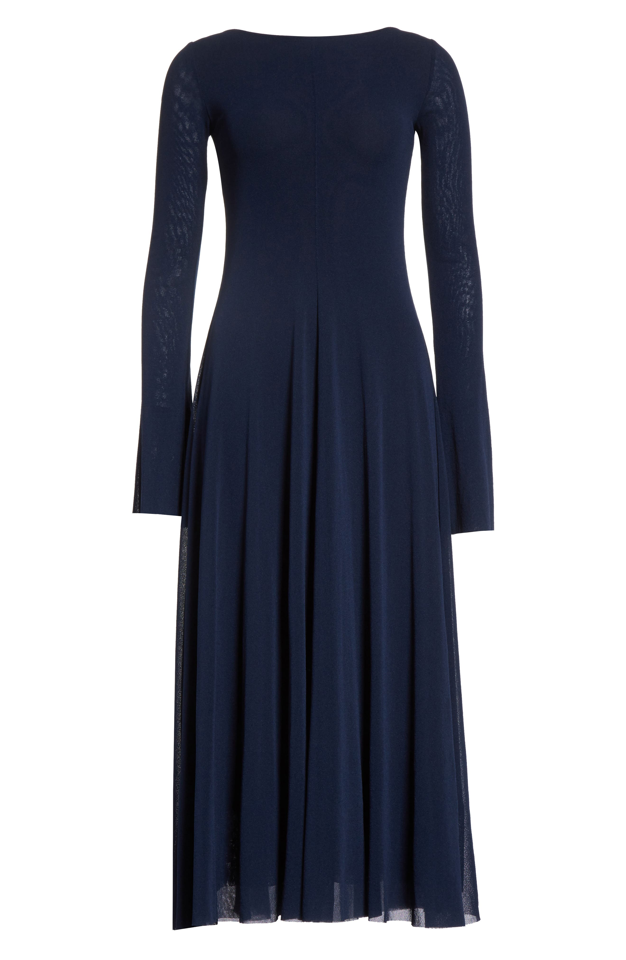 Alternate Image 4  - Fuzzi Reversible Tulle Dress