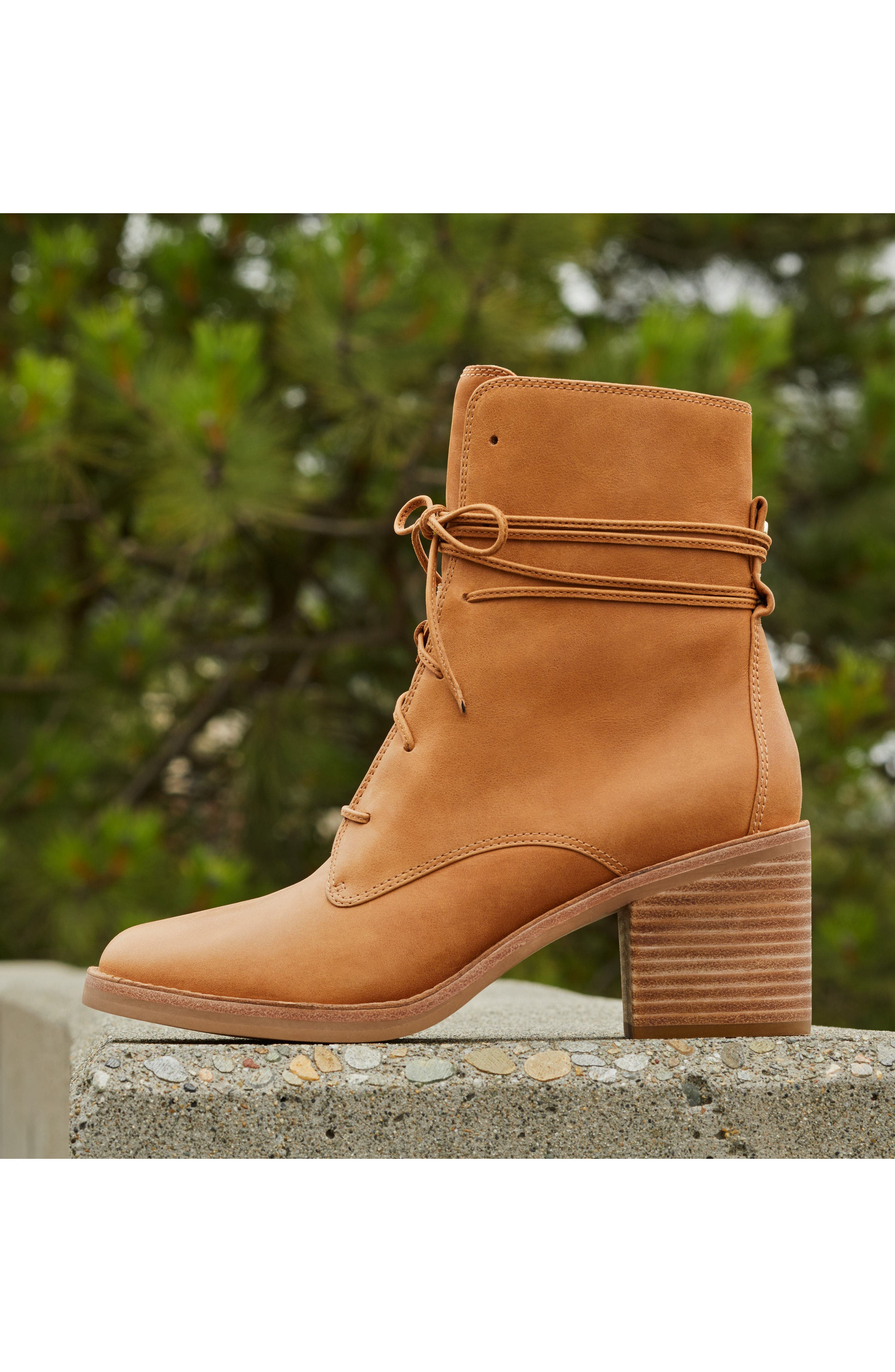 Oriana Lace-Up Boot,                             Alternate thumbnail 6, color,