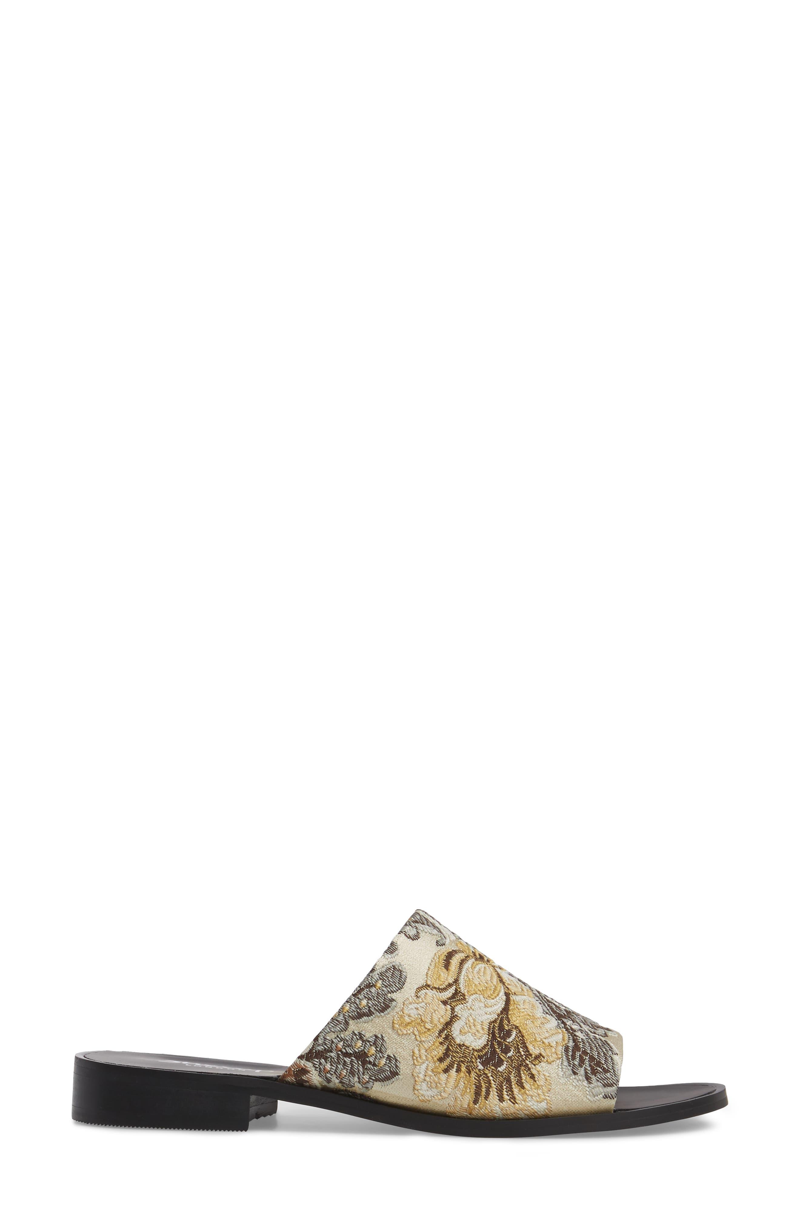 Alternate Image 3  - Shellys London Enya Brocade Slide Sandal (Women)