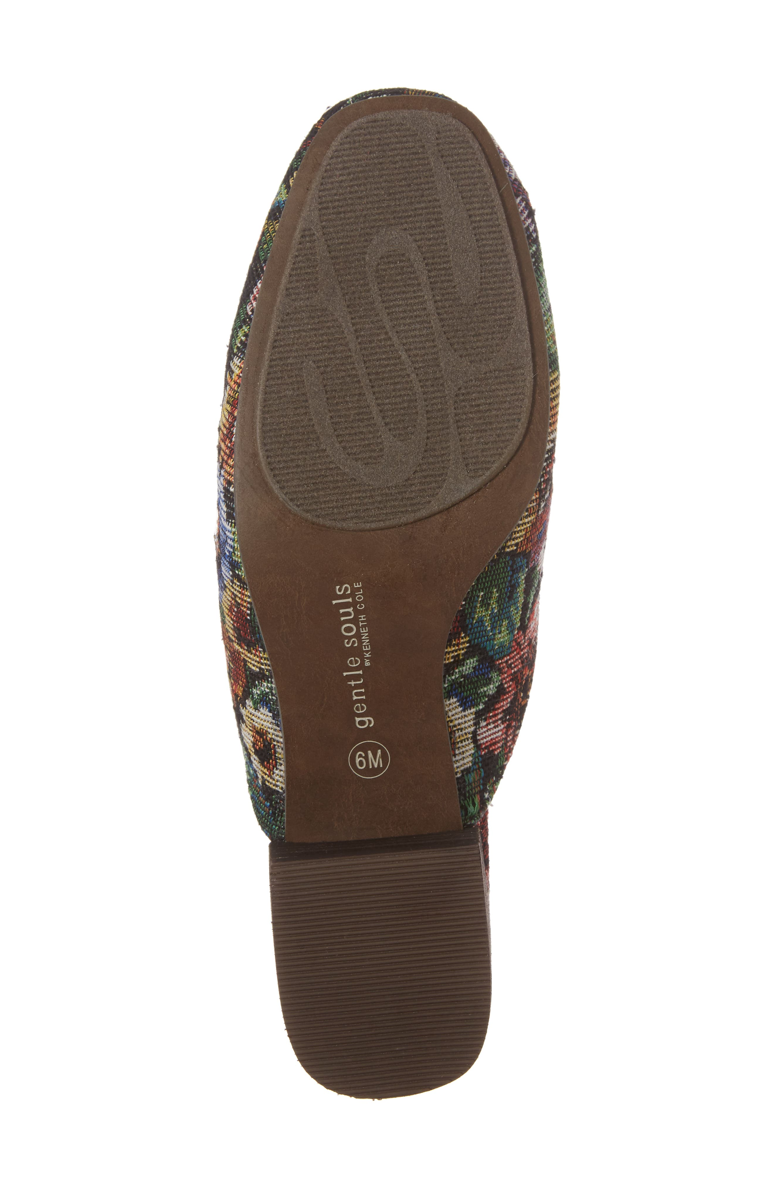 Eida Loafer Mule,                             Alternate thumbnail 6, color,                             Floral Fabric