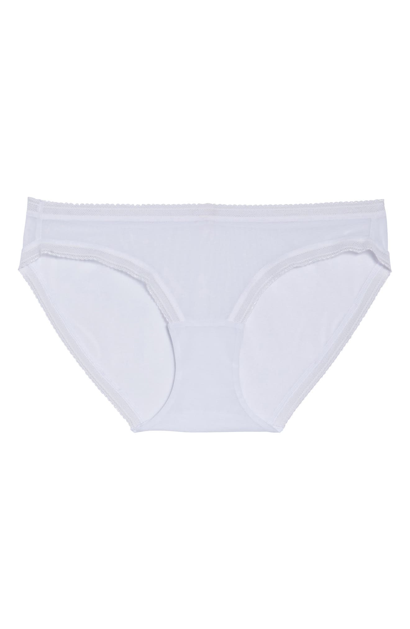 Mesh Bikini,                             Alternate thumbnail 8, color,                             White
