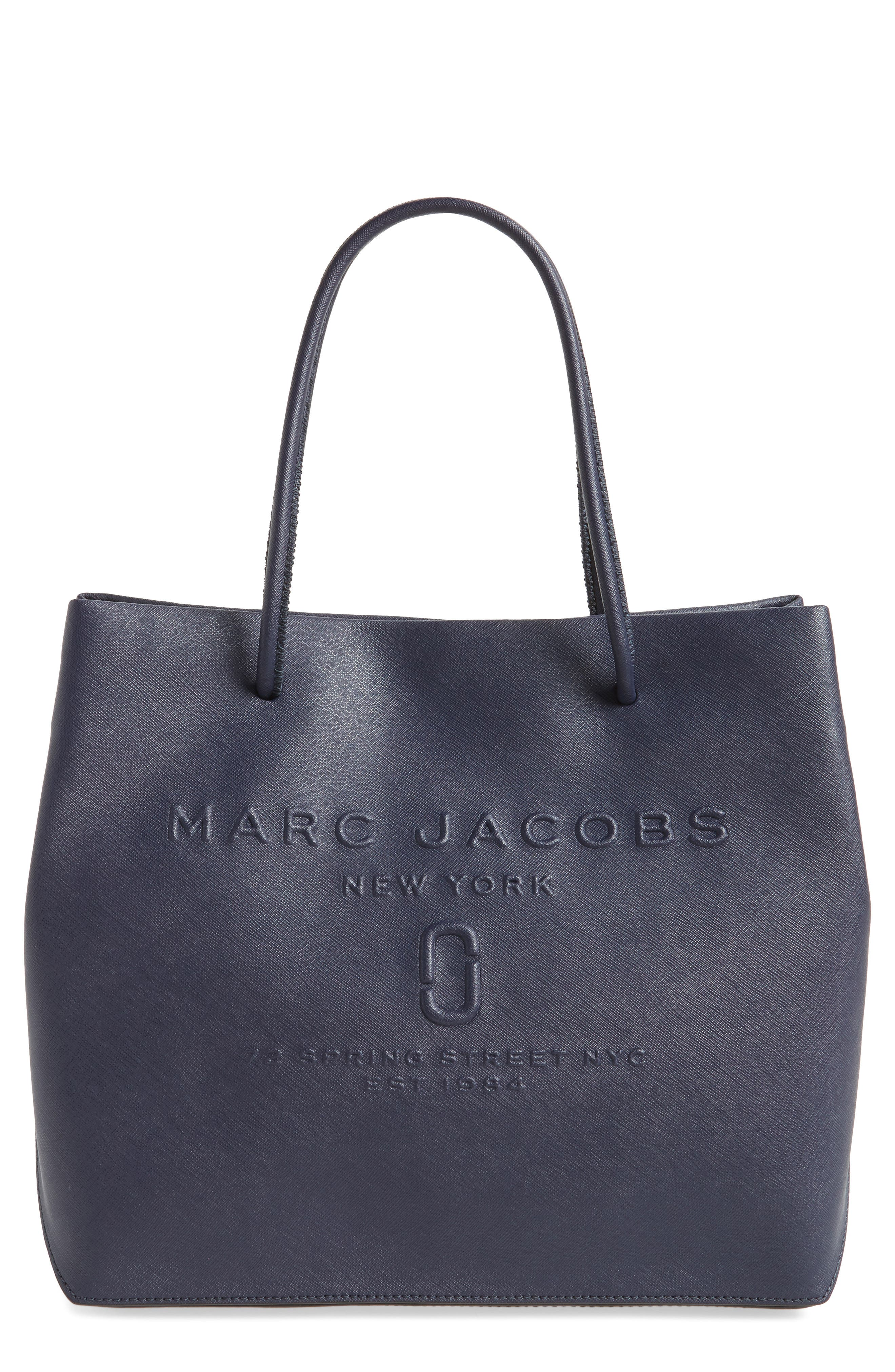 MARC JACOBS Logo Leather Shopper