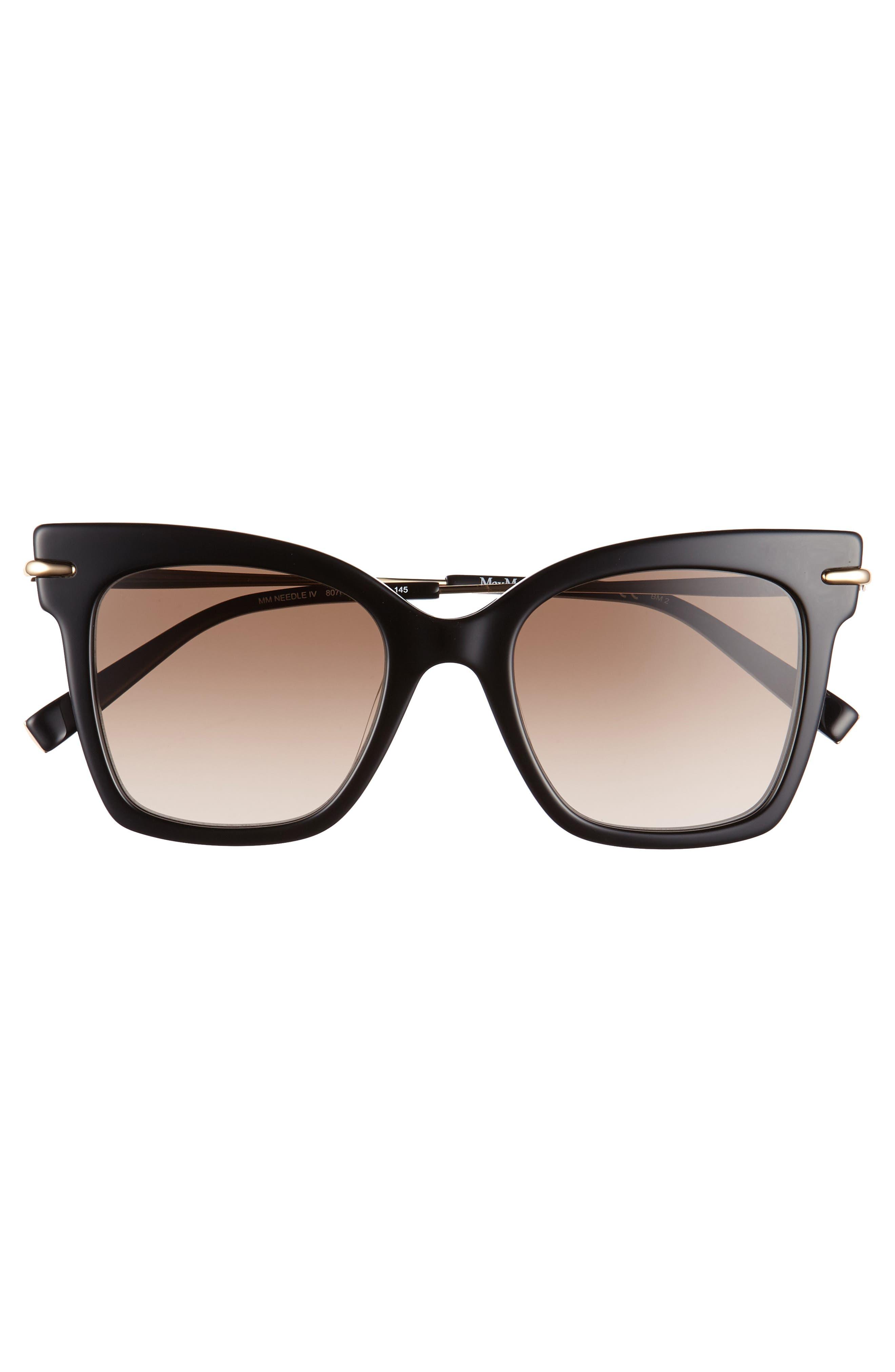 Alternate Image 3  - Max Mara Needliv 49mm Gradient Cat Eye Sunglasses