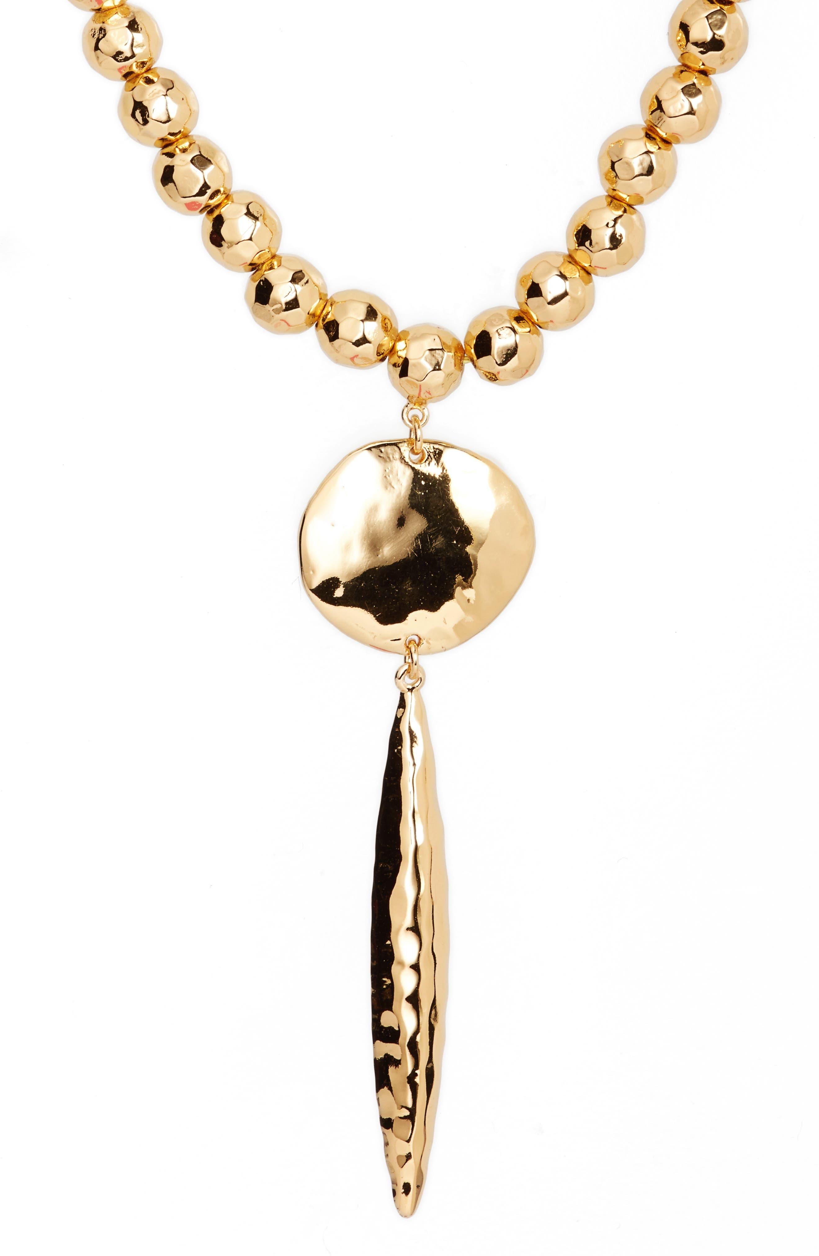 Alternate Image 1 Selected - gorjana Gypset Adjustable Pendant Necklace