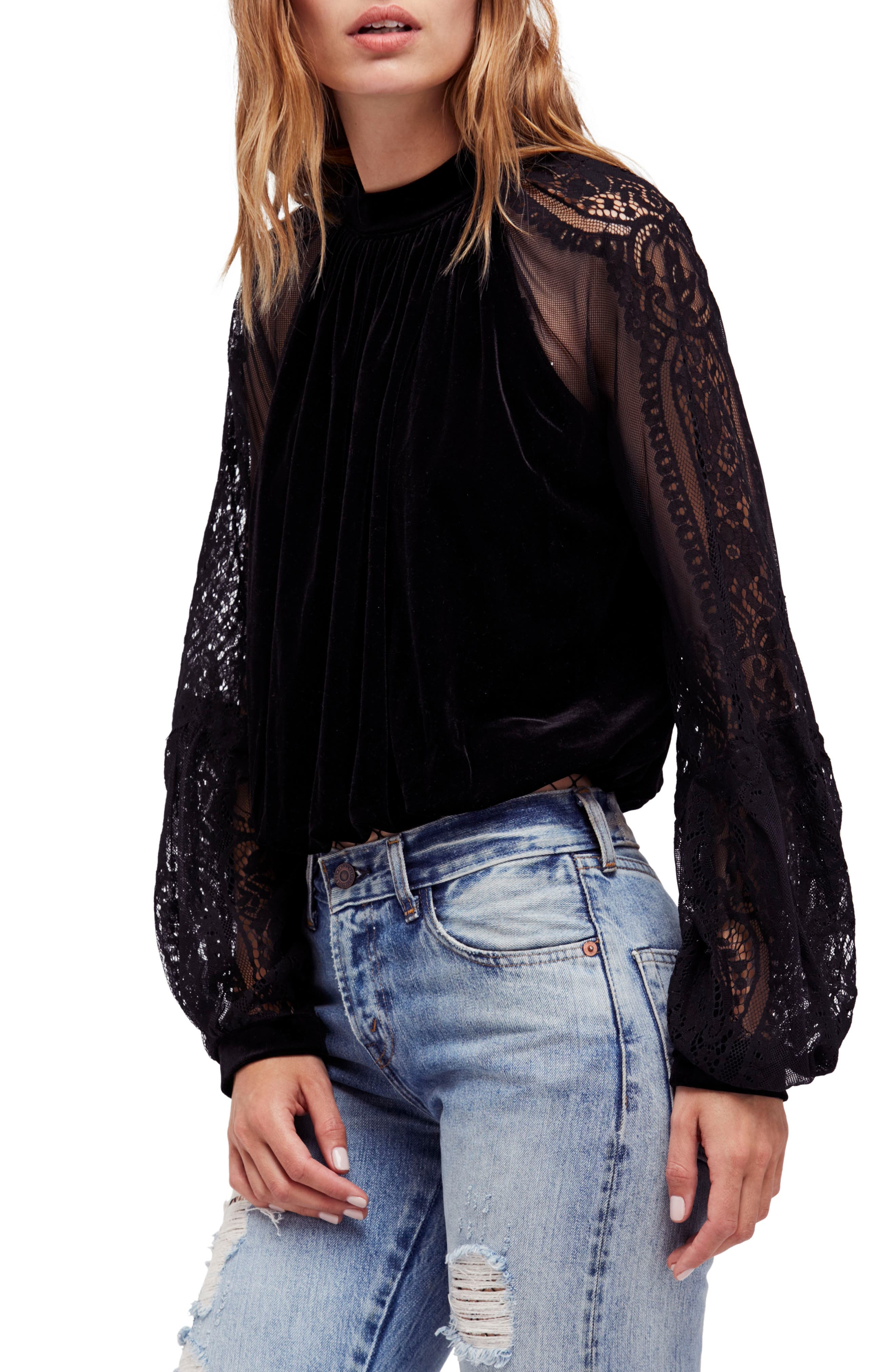 Main Image - Free People Dream Team Top