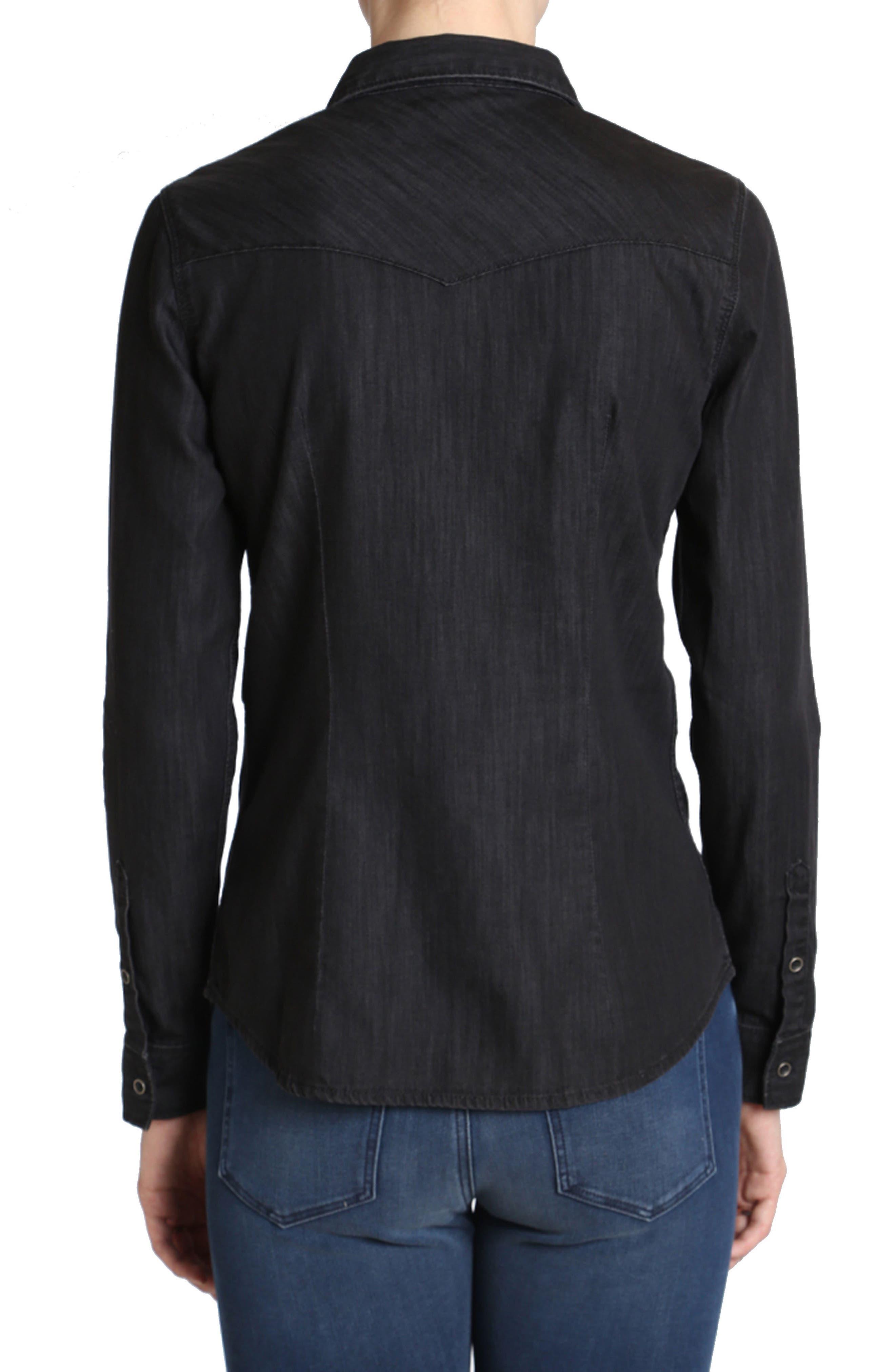 Alternate Image 2  - Mavi Jeans Isabel Denim Shirt