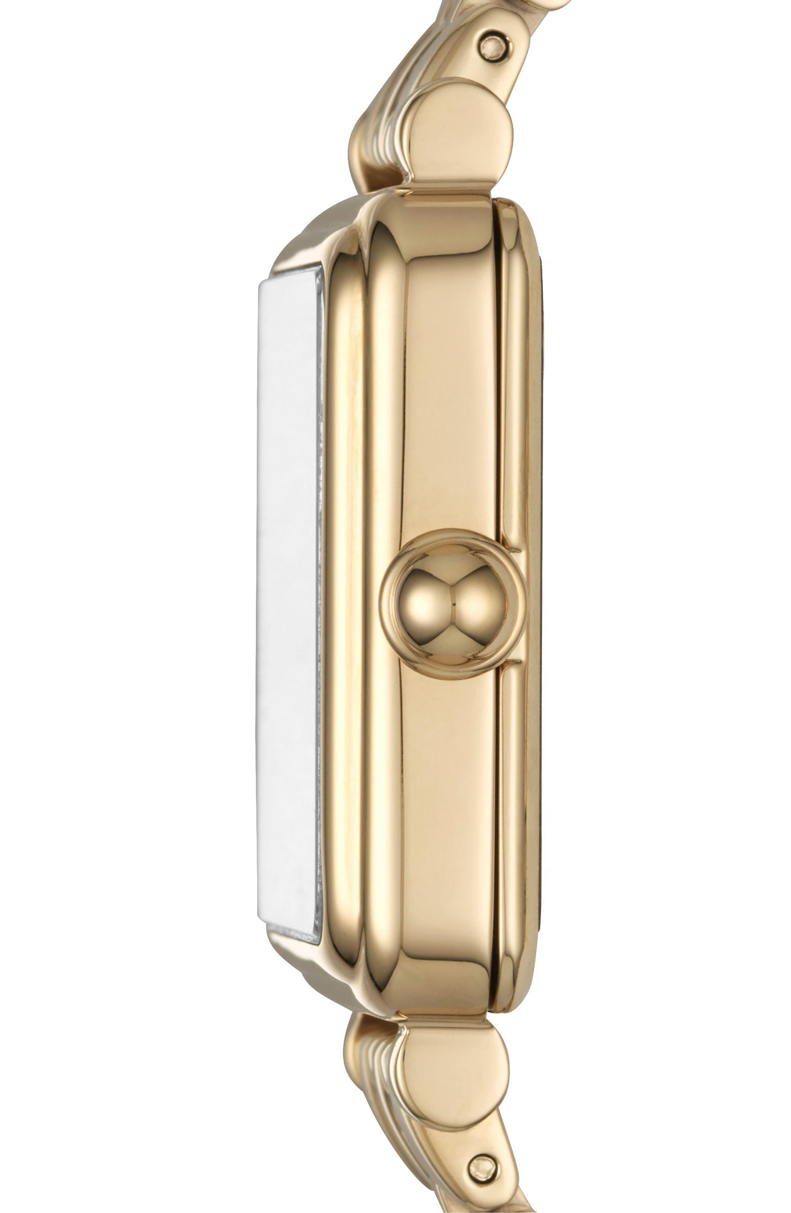 Alternate Image 3  - MARC JACOBS Square Vic Bracelet Watch, 30mm