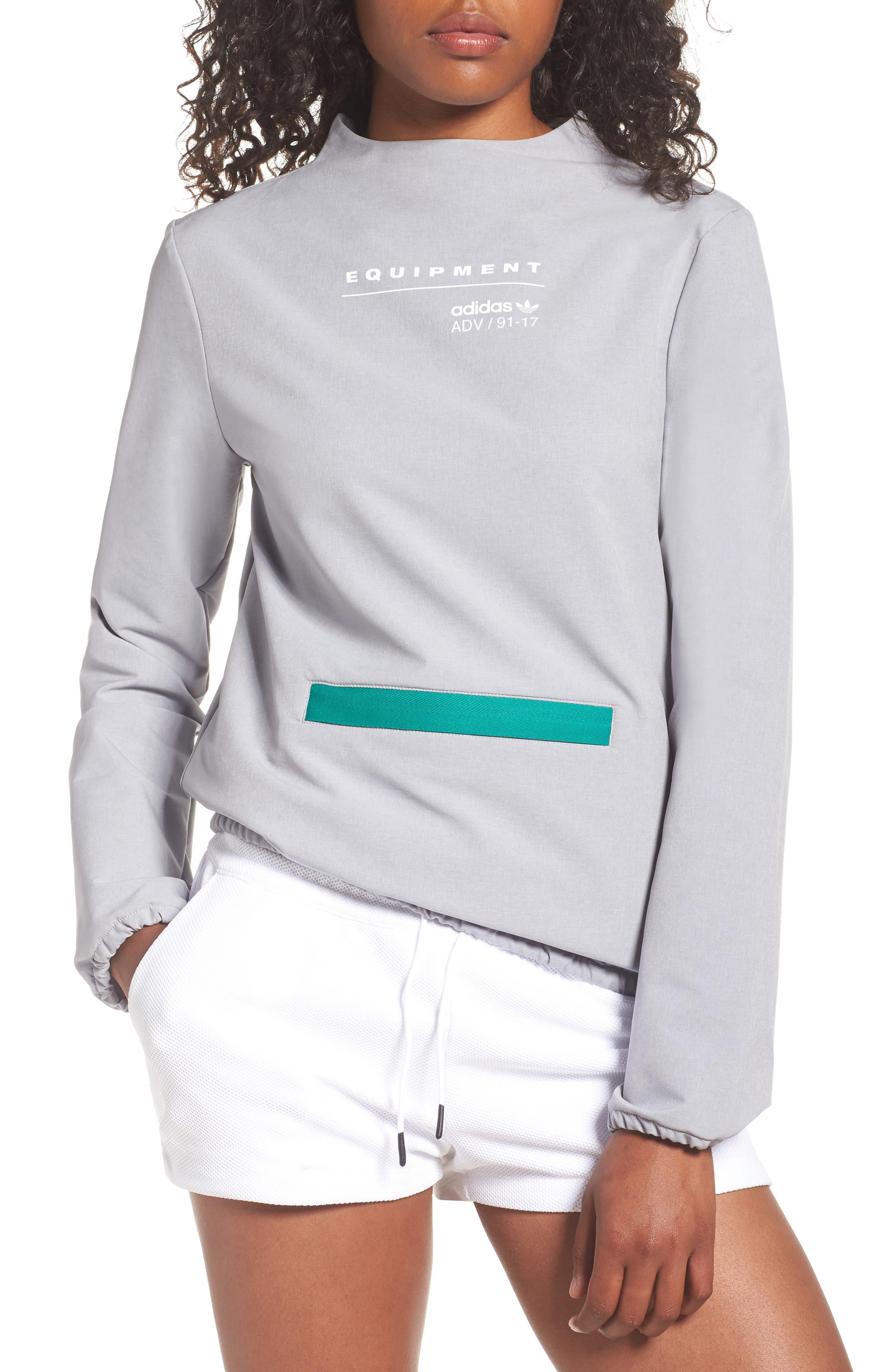 EQT Pullover,                         Main,                         color, Medium Grey Heather