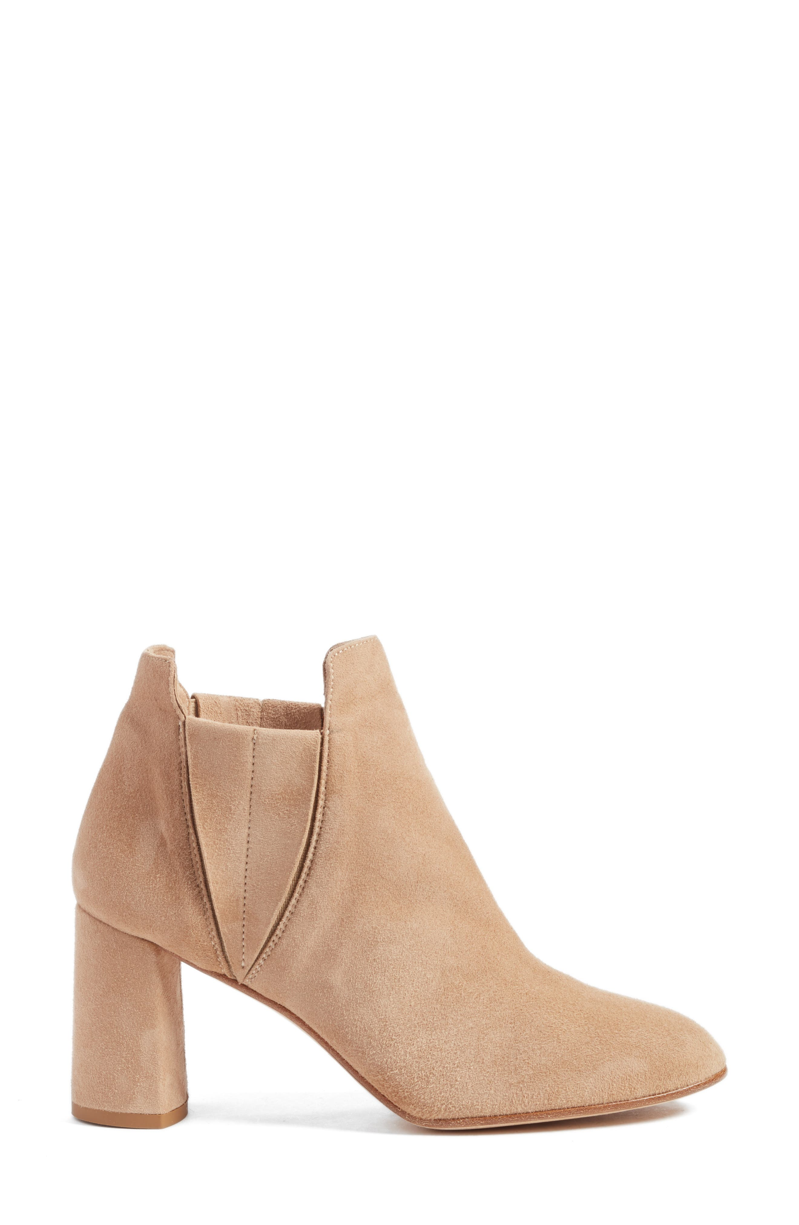 Nadina Chelsea Bootie,                             Alternate thumbnail 3, color,                             Travertine
