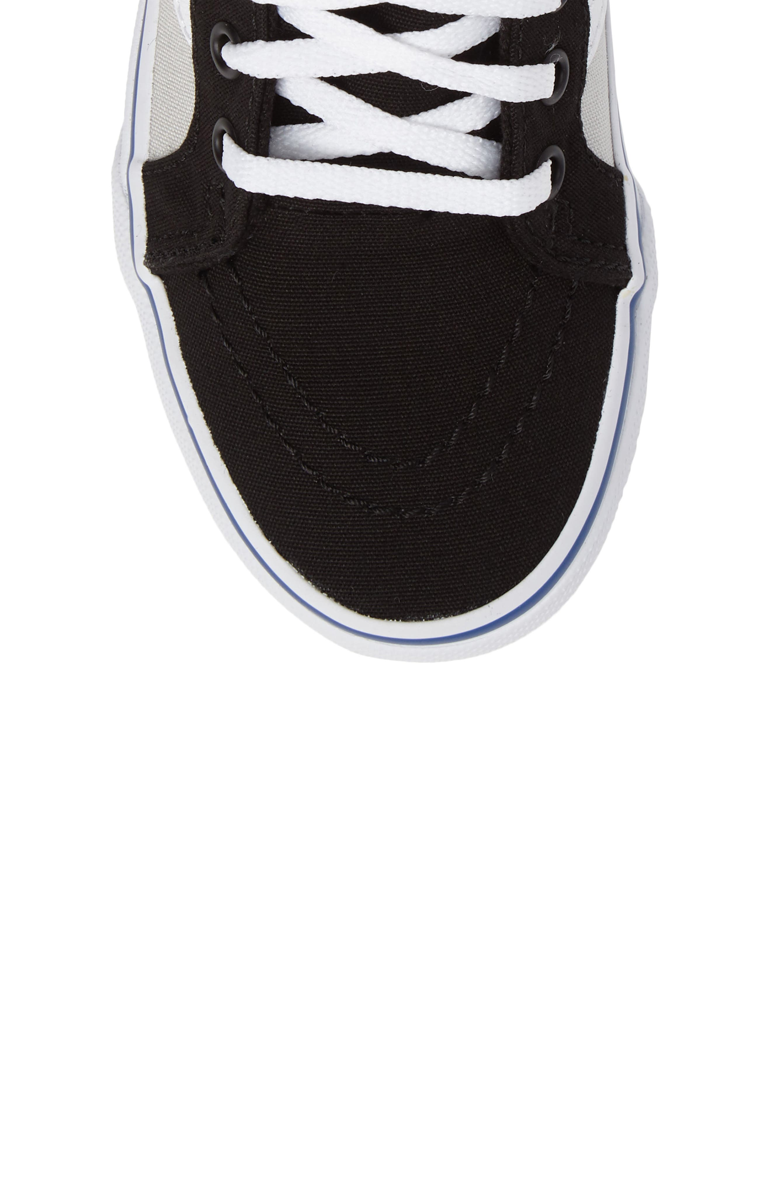 Alternate Image 5  - Vans SK8-Hi Zip Sneaker (Baby, Walker, Toddler, Little Kid & Big Kid)
