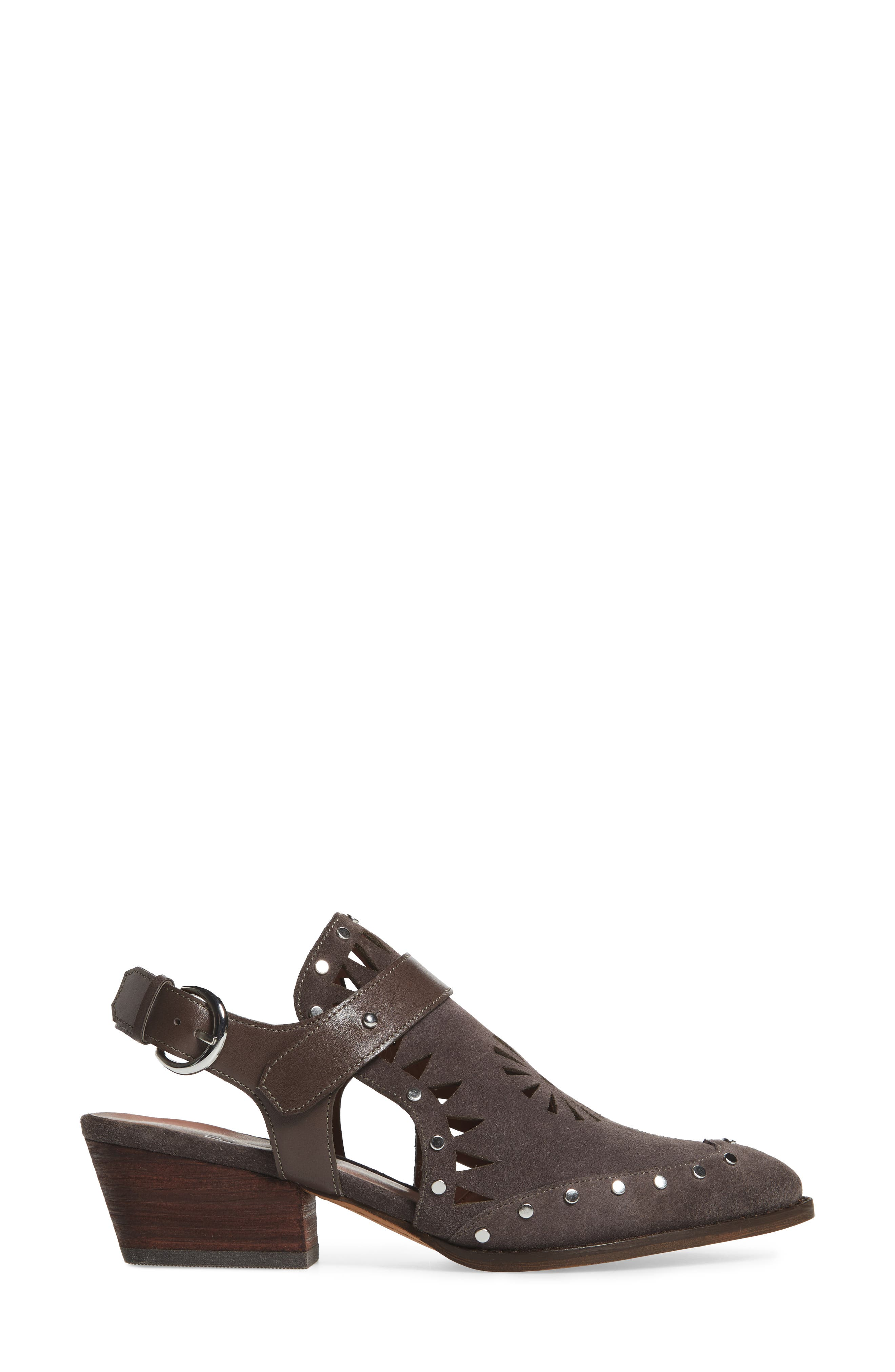 Whitney Bootie,                             Alternate thumbnail 3, color,                             Ash Suede