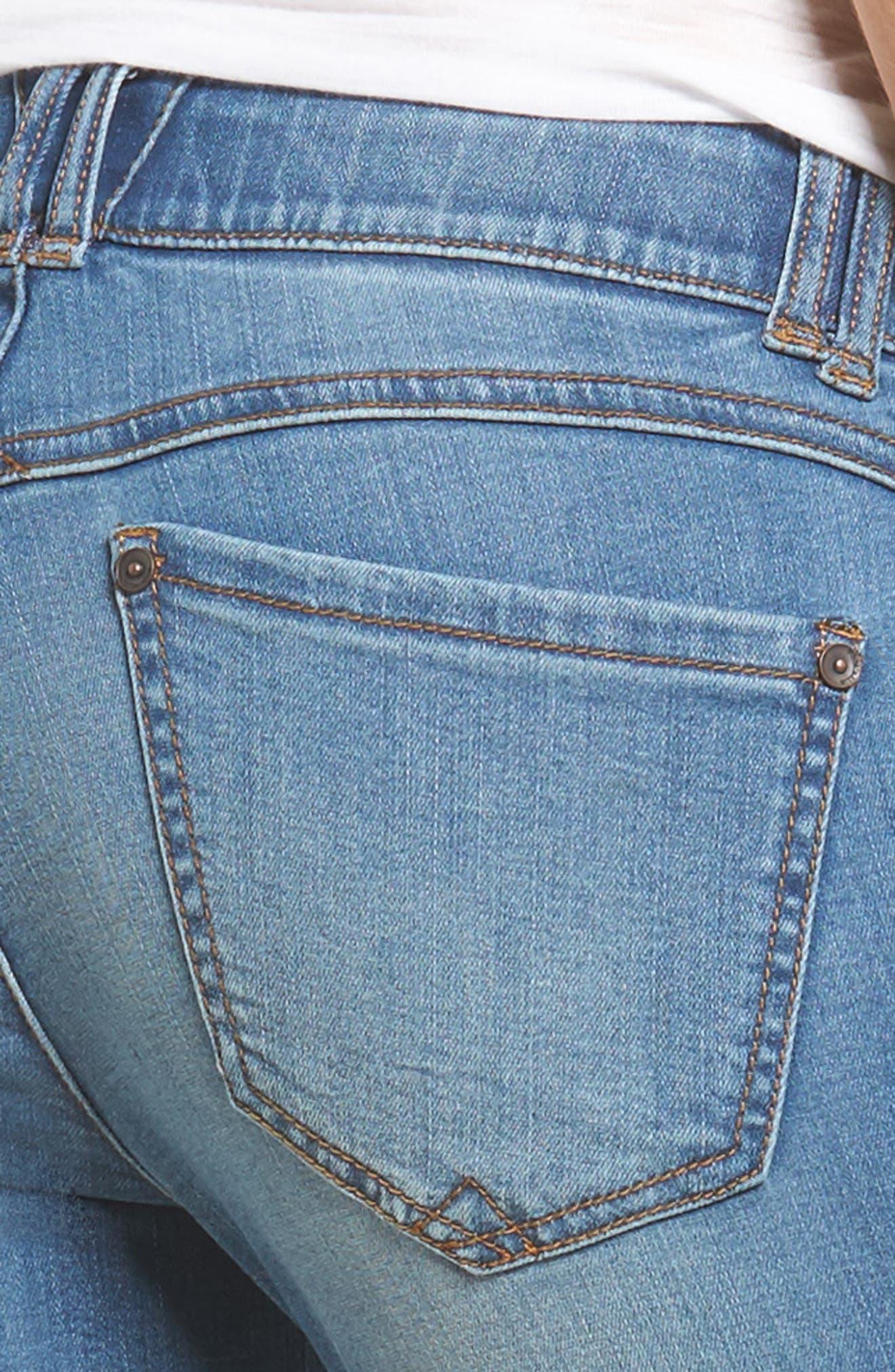 Alternate Image 4  - Wit & Wisdom Ab-solution Split Release Hem Jeans (Regular & Petite) (Nordstrom Exclusive)