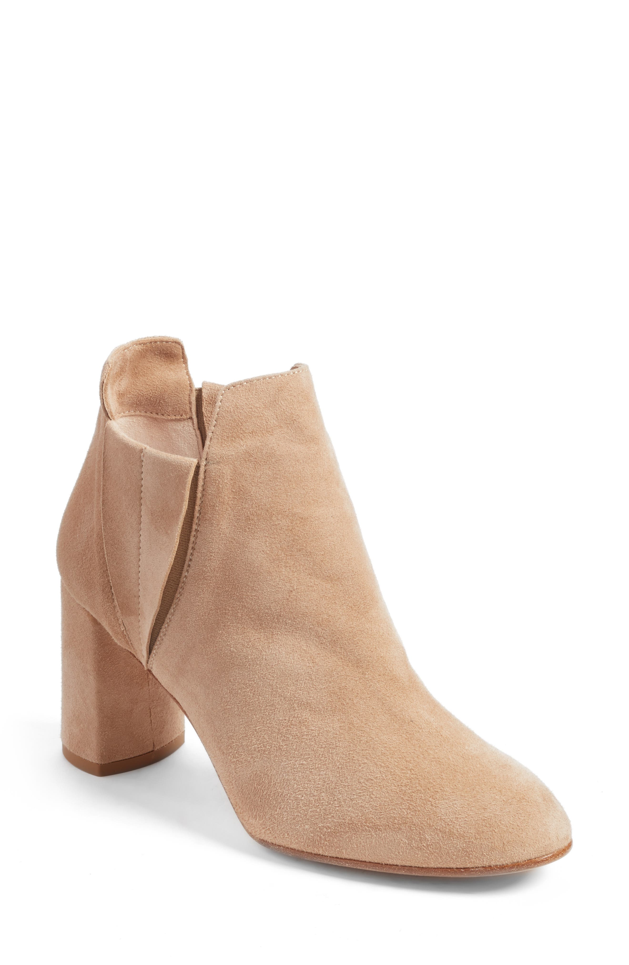 Nadina Chelsea Bootie,                             Main thumbnail 1, color,                             Travertine