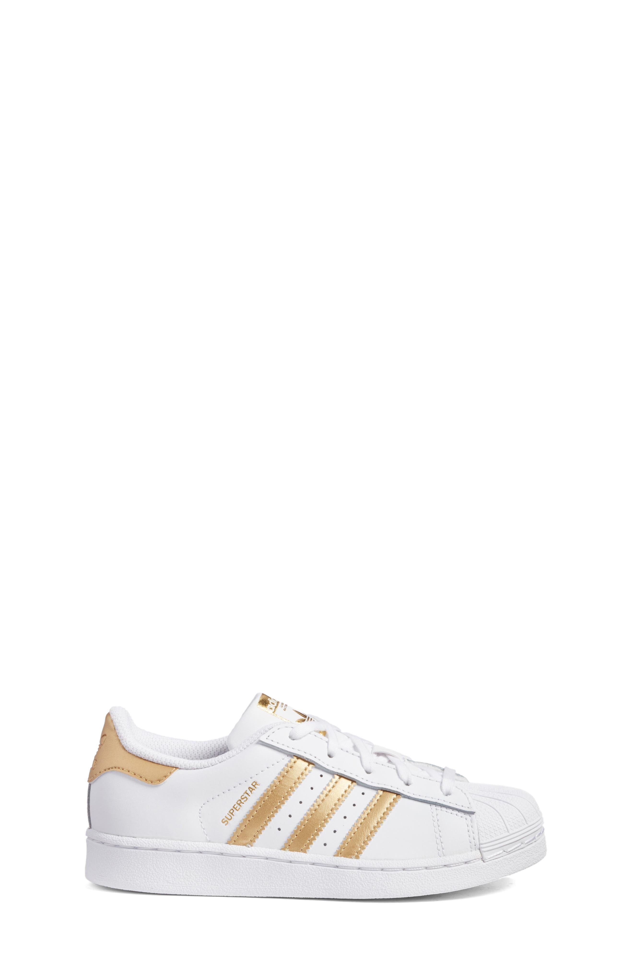 Alternate Image 3  - adidas Superstar C Sneaker (Toddler & Little Kid)
