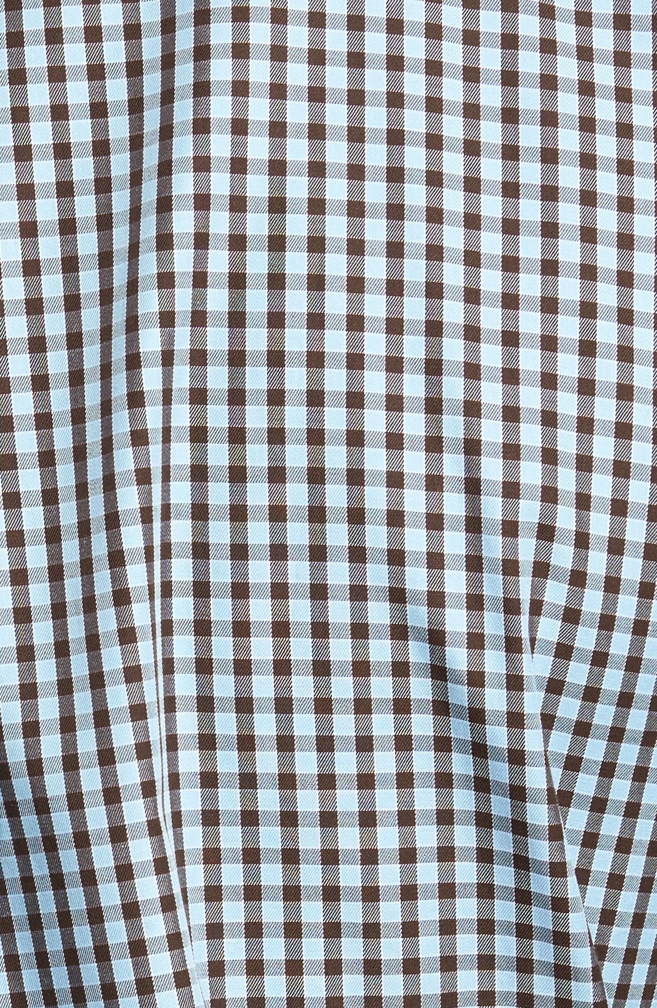 Alternate Image 5  - Peter Millar Midwinter Gingham Regular Fit Sport Shirt