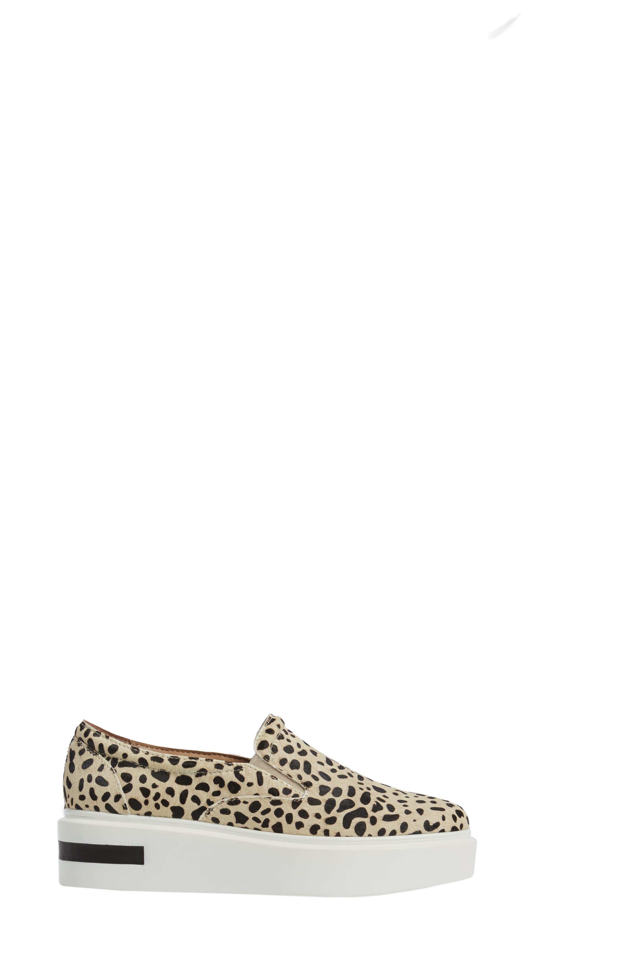 Alternate Image 3  - Linea Paolo Fairfax II Genuine Calf Hair Platform Sneaker (Women)