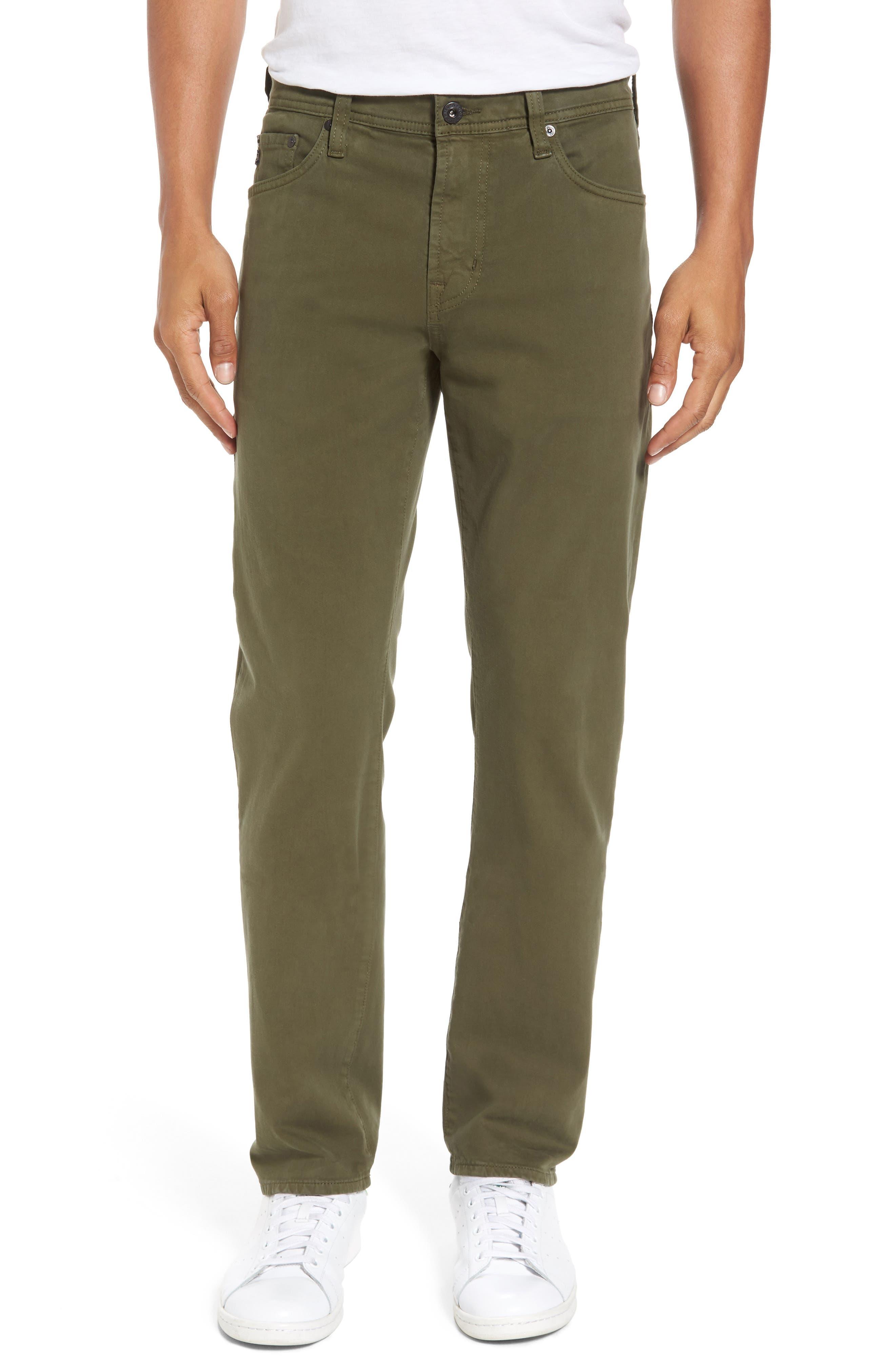 Alternate Image 1 Selected - AG Everett SUD Slim Straight Fit Pants