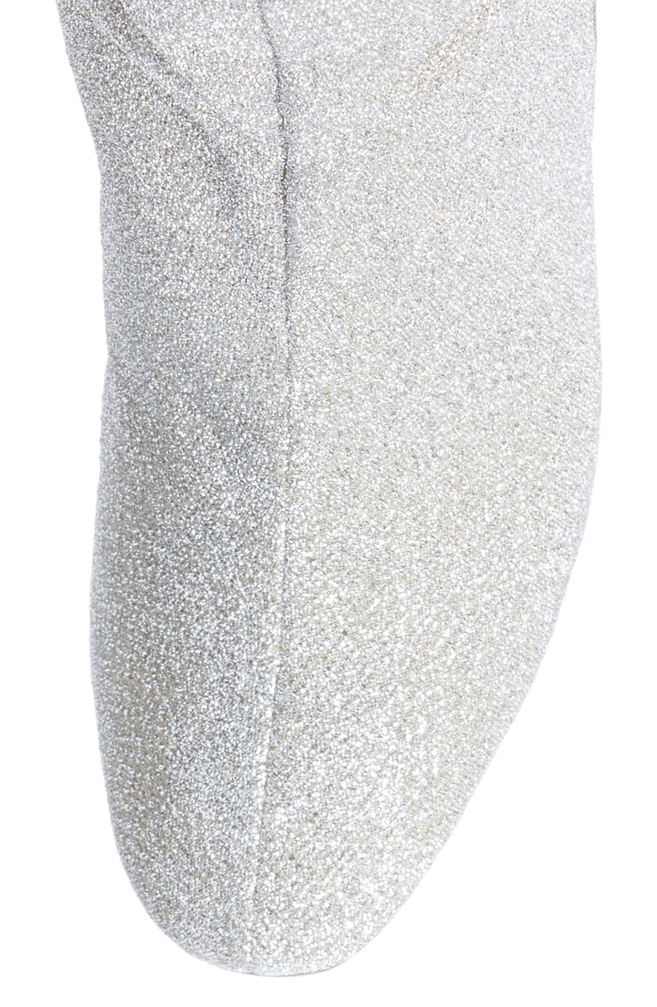 Corella Boot,                             Alternate thumbnail 5, color,                             Silver Glitter