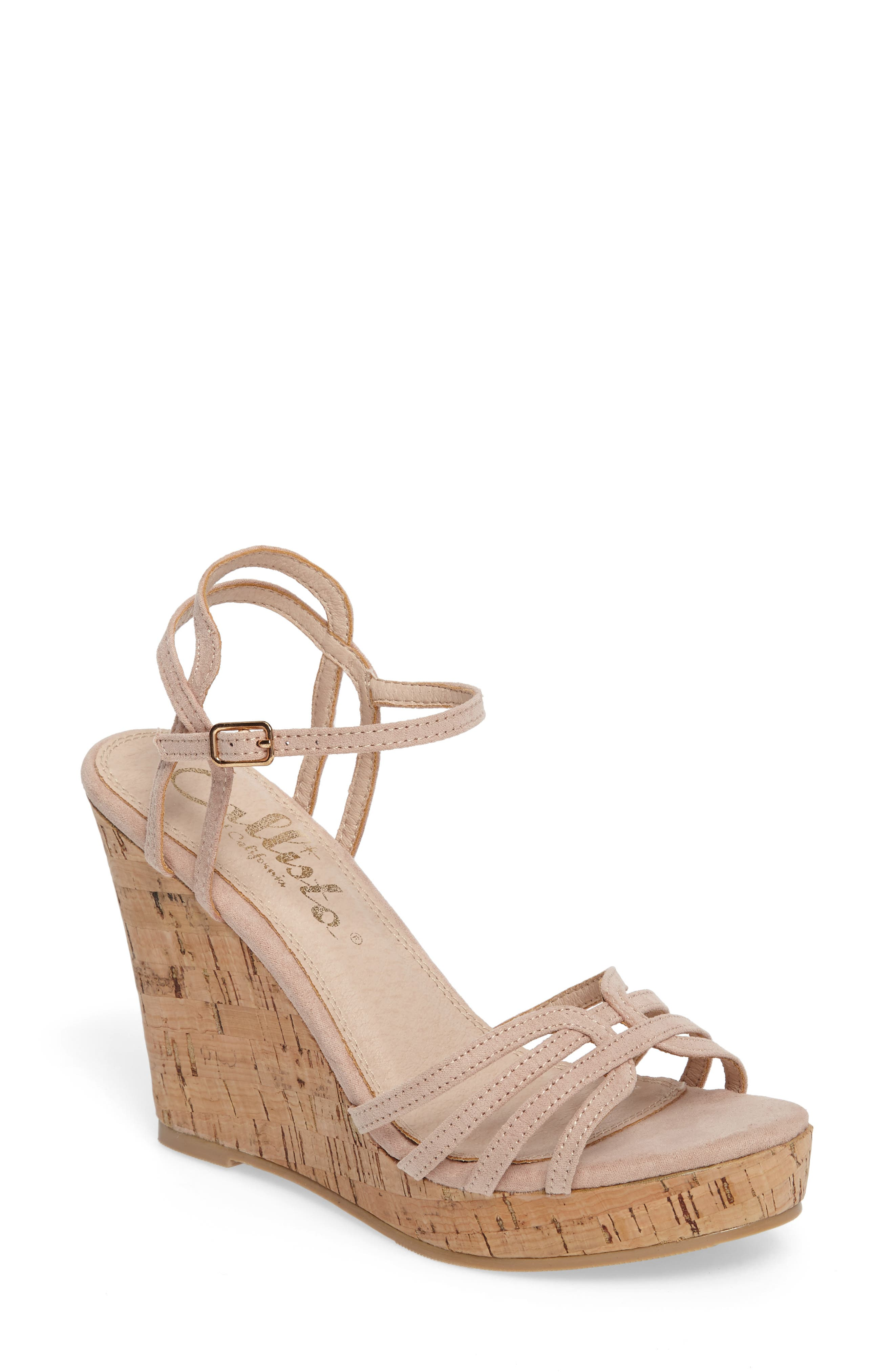 Alternate Image 1 Selected - Callisto Oasis Platform Wedge Sandal (Women)