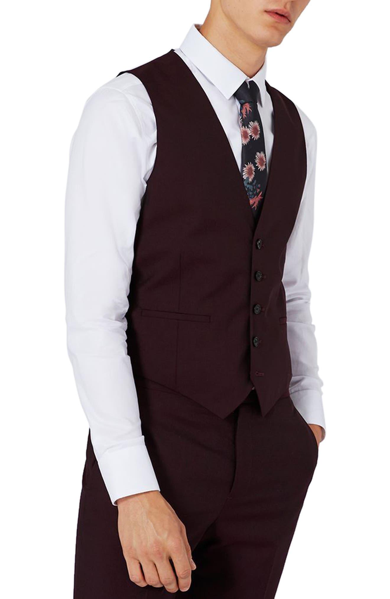 Main Image - Charlie Casely-Hayford x Topman Skinny Fit Vest