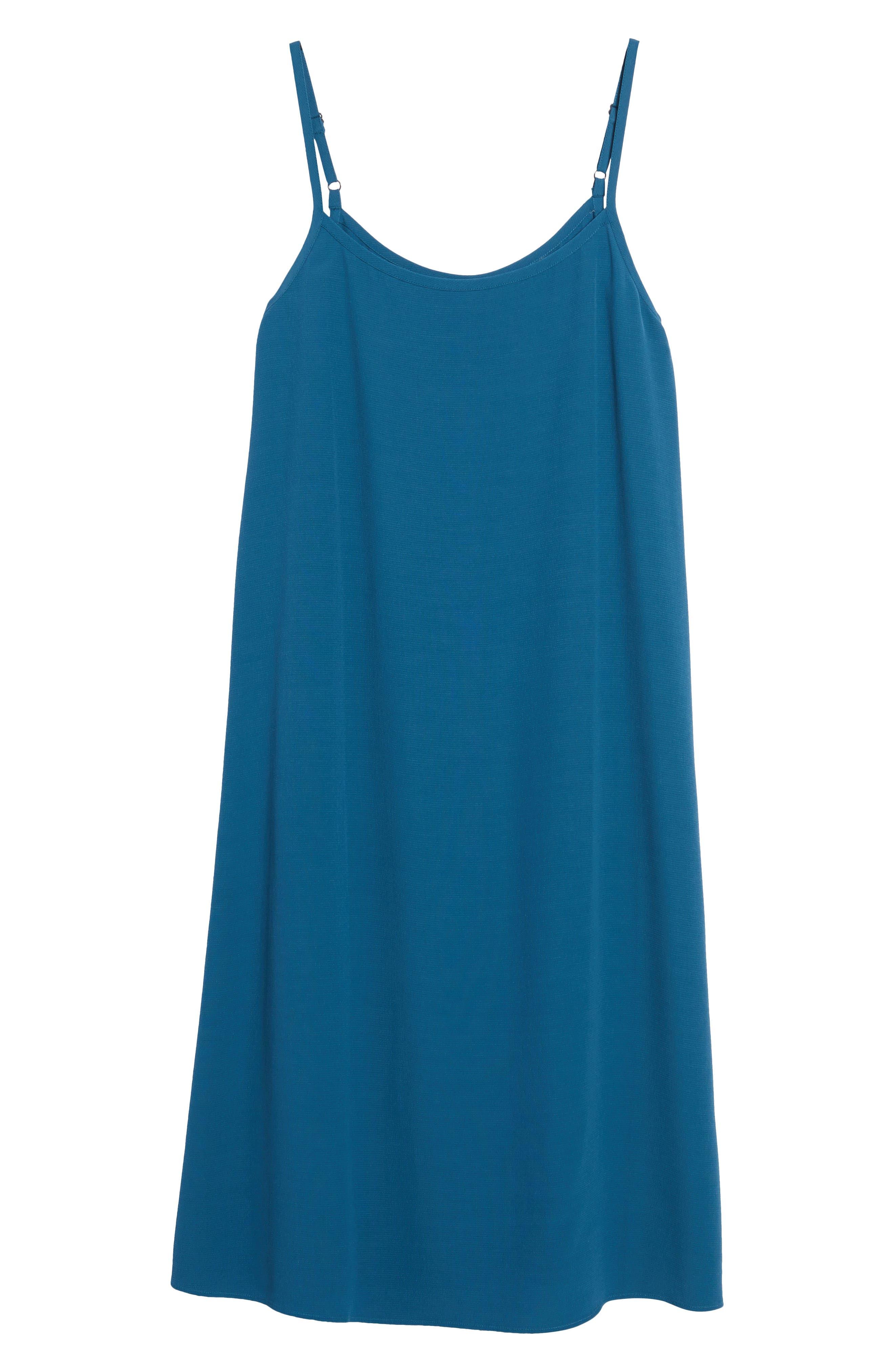 Alternate Image 6  - Eileen Fisher Midi Slipdress (Regular & Petite)