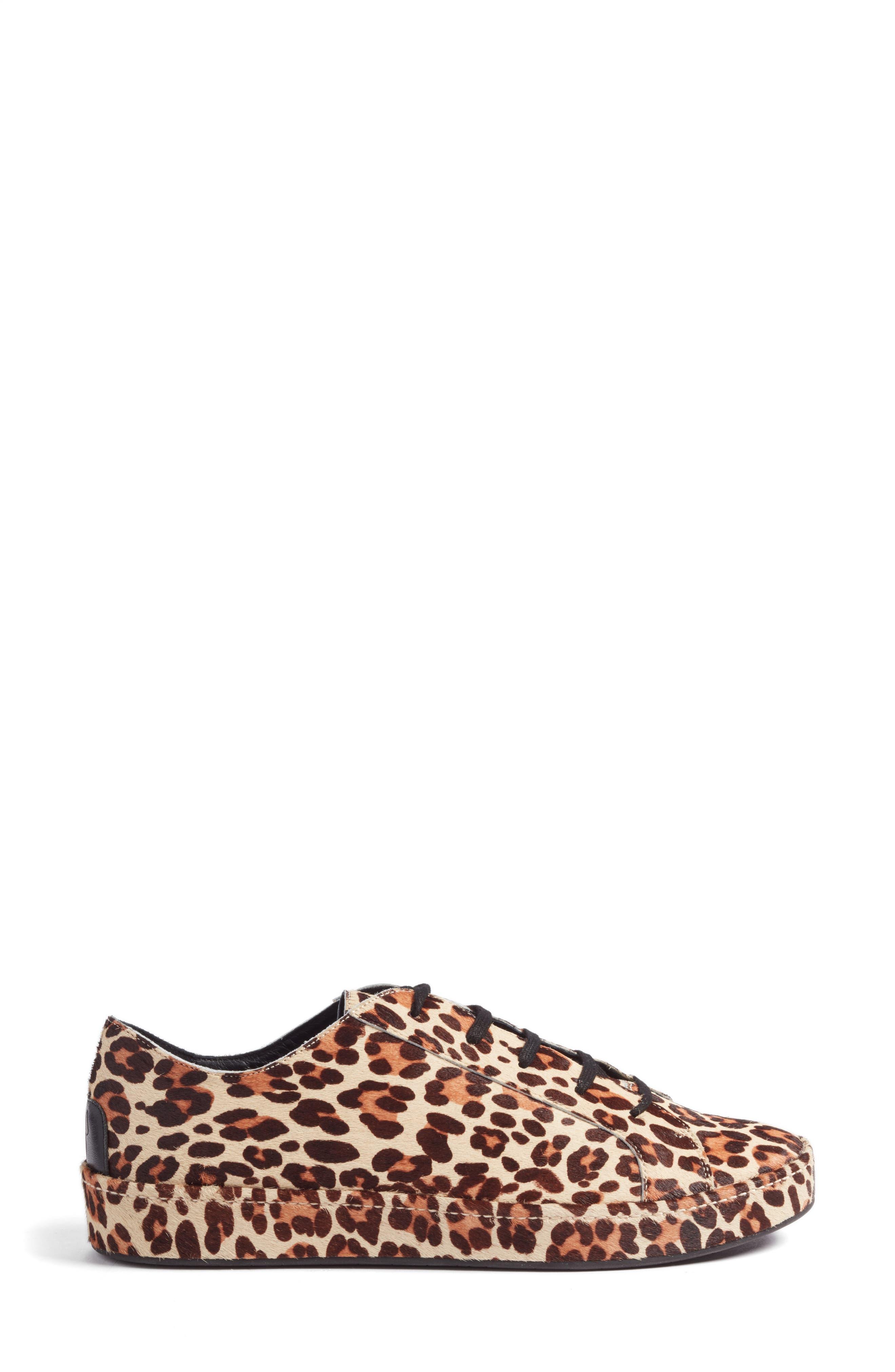 Alternate Image 3  - Joie Daryl Low Top Genuine Calf Hair Sneaker (Women)