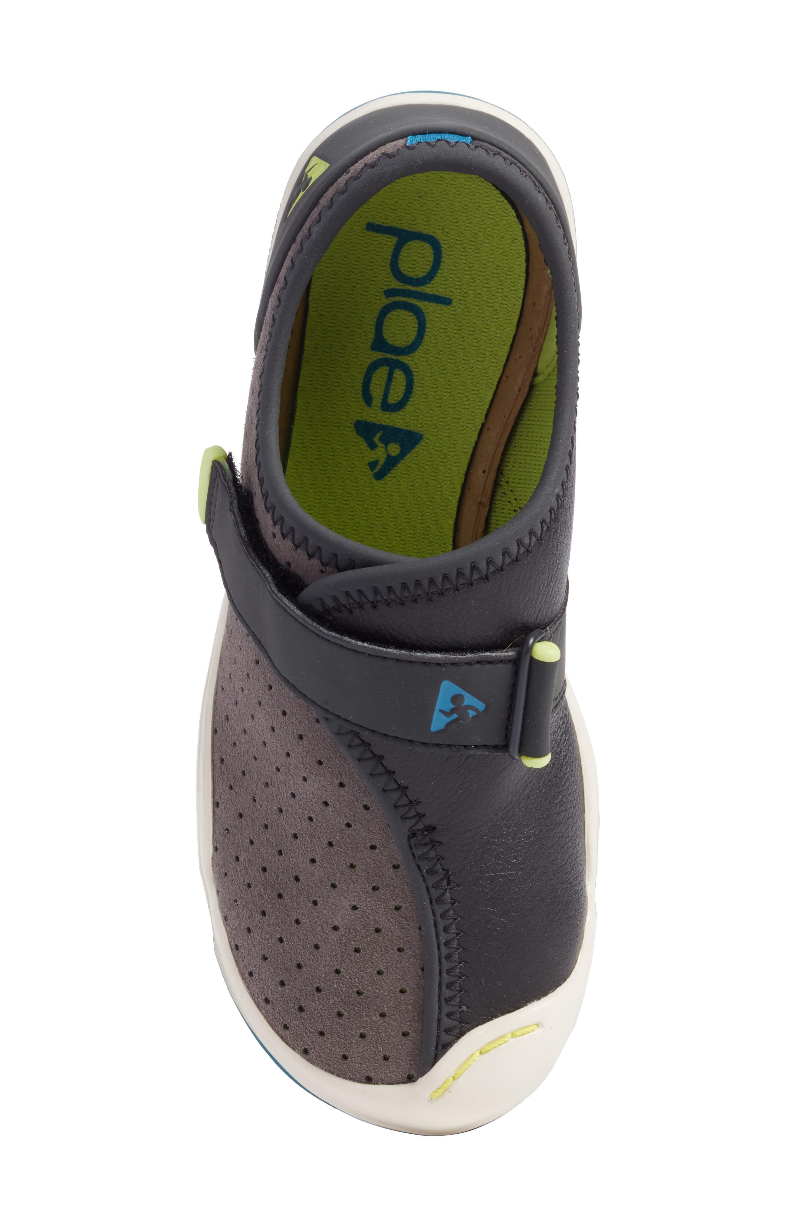 Cam Perforated Sneaker,                             Alternate thumbnail 5, color,                             Lunar Grey