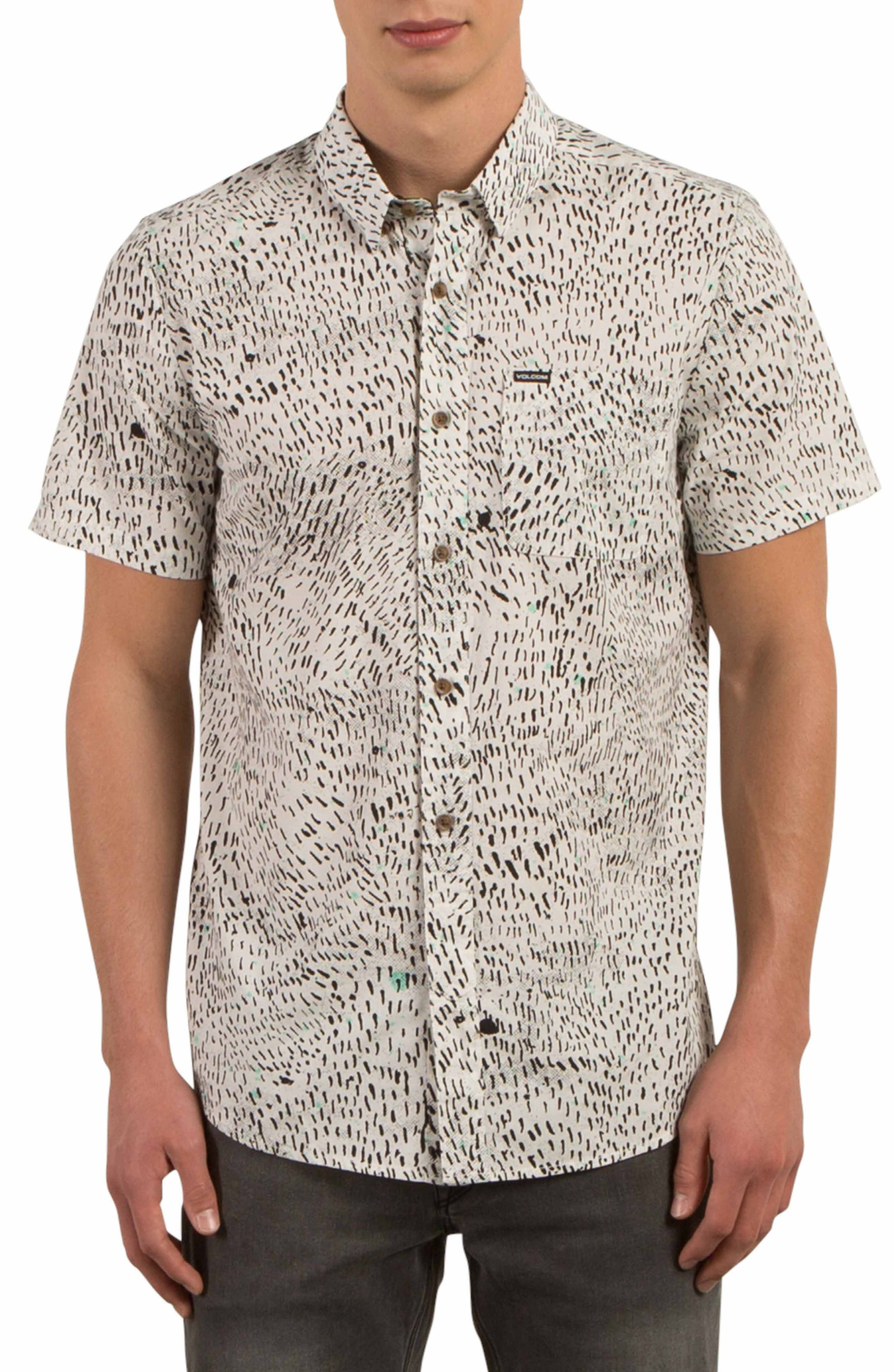 Volcom Primitive Noize Print Shirt