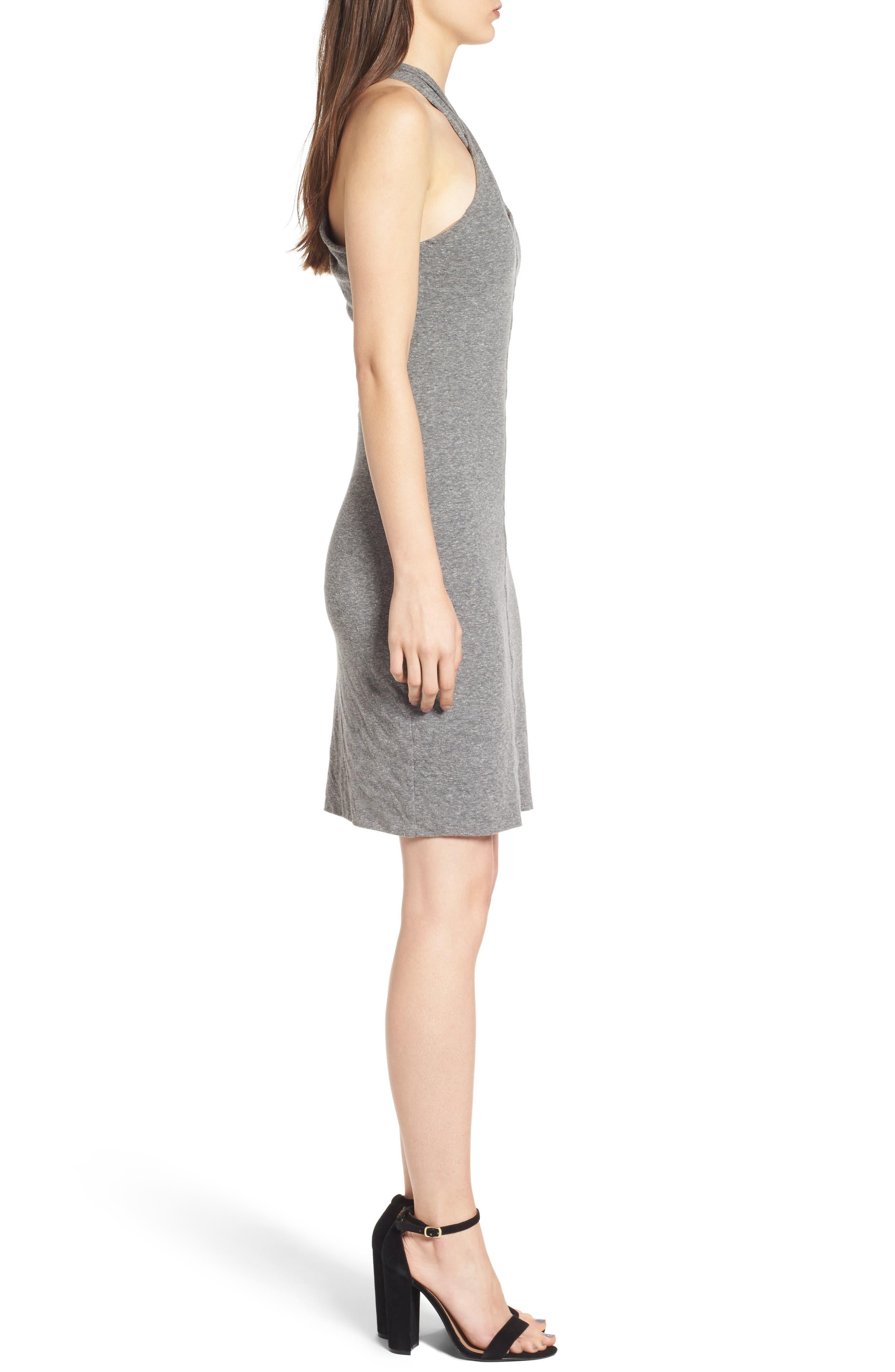 Alternate Image 3  - Pam & Gela Twist Collar Body-Con Dress