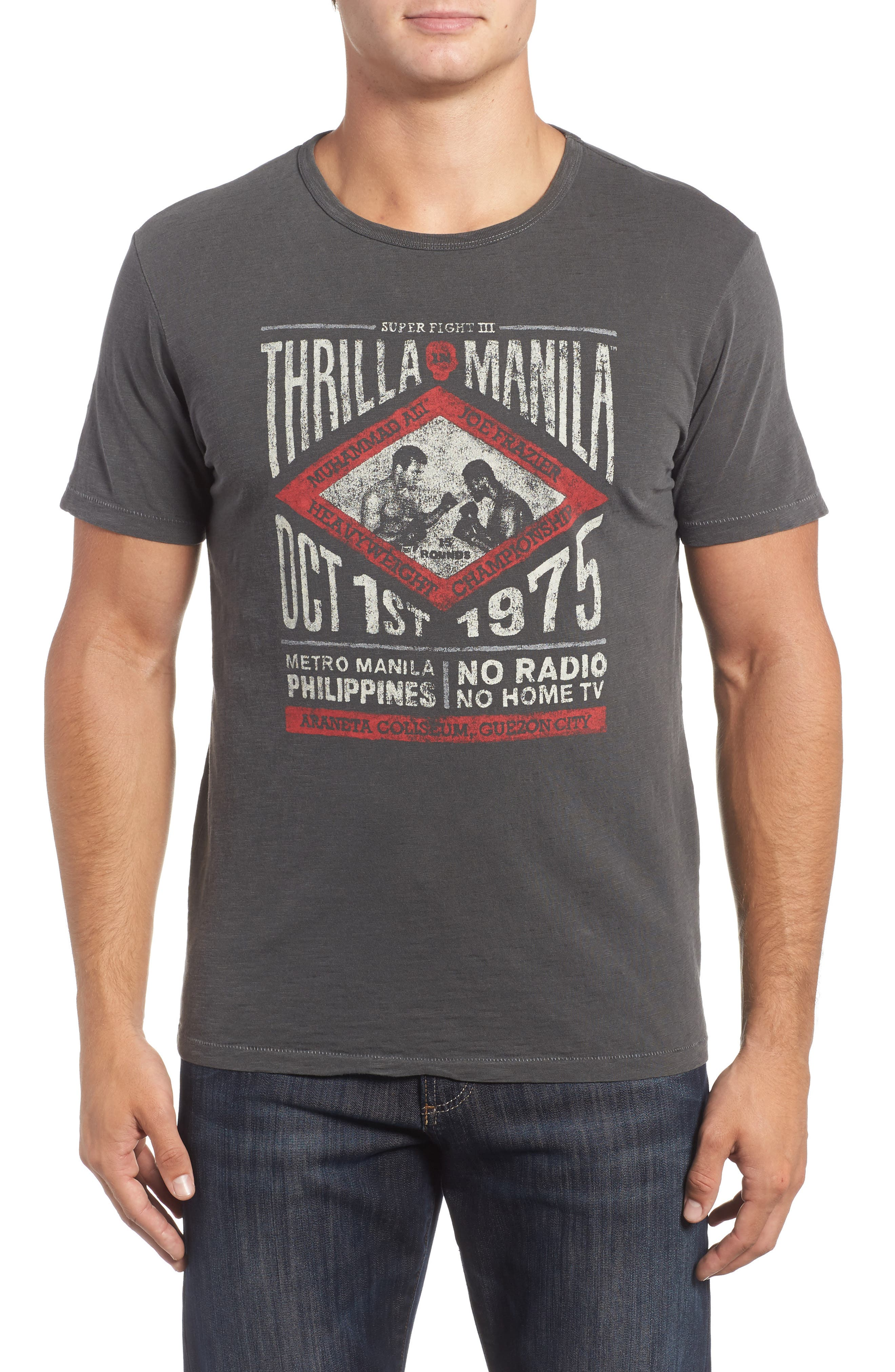 Lucky Brand Thrilla in Manila Graphic T-Shirt