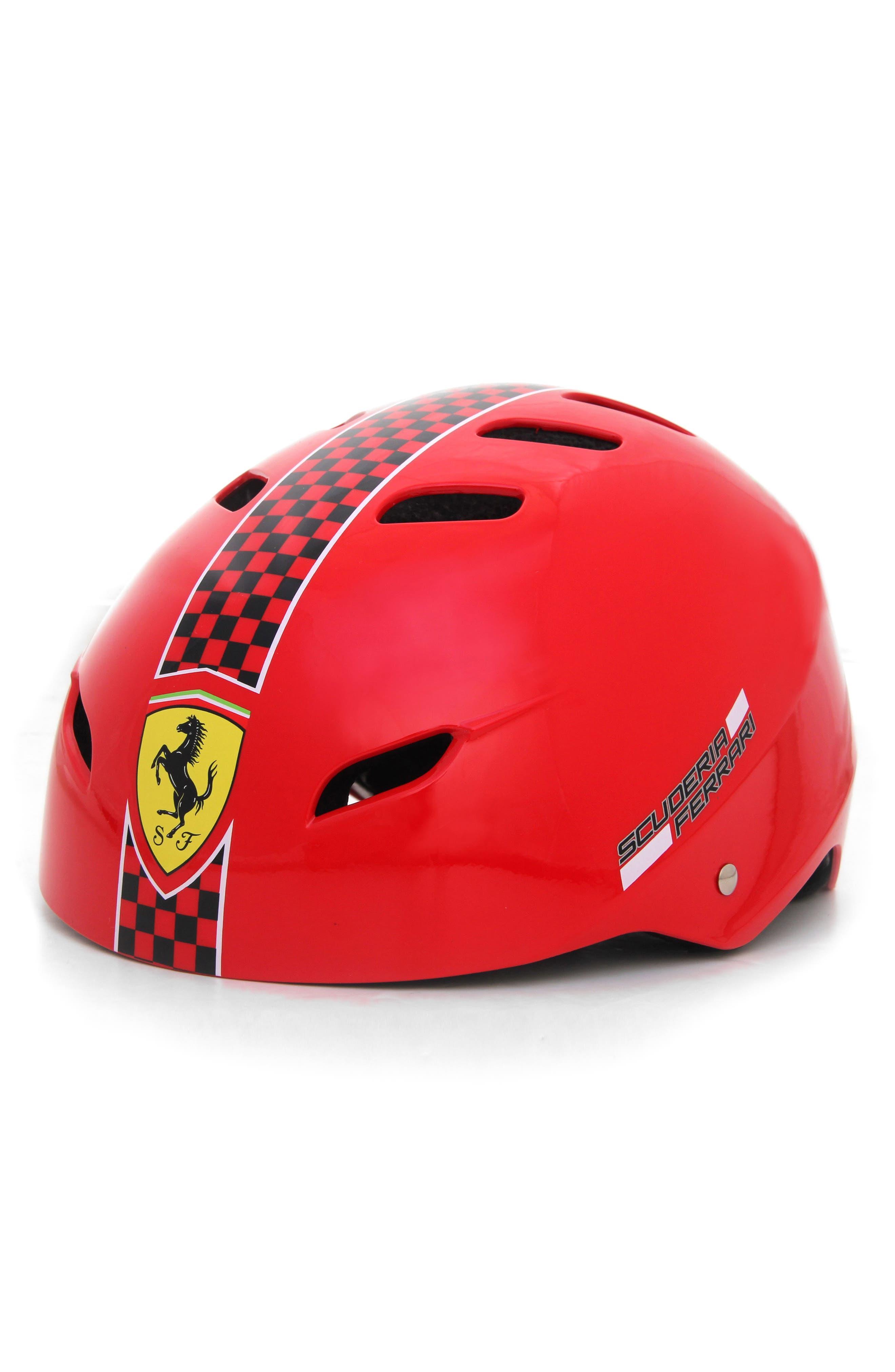 F1 Racing Helmet,                             Alternate thumbnail 2, color,                             Red