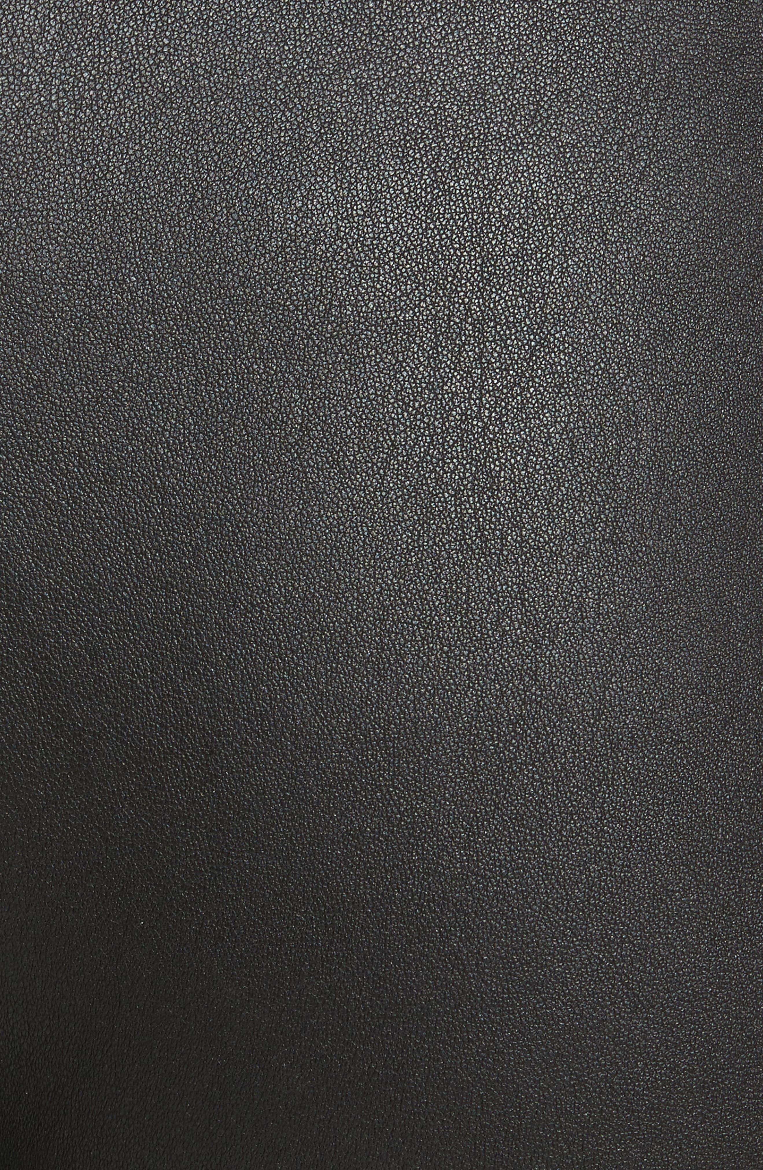 Alternate Image 5  - Brandon Maxwell Leather Cigarette Pants