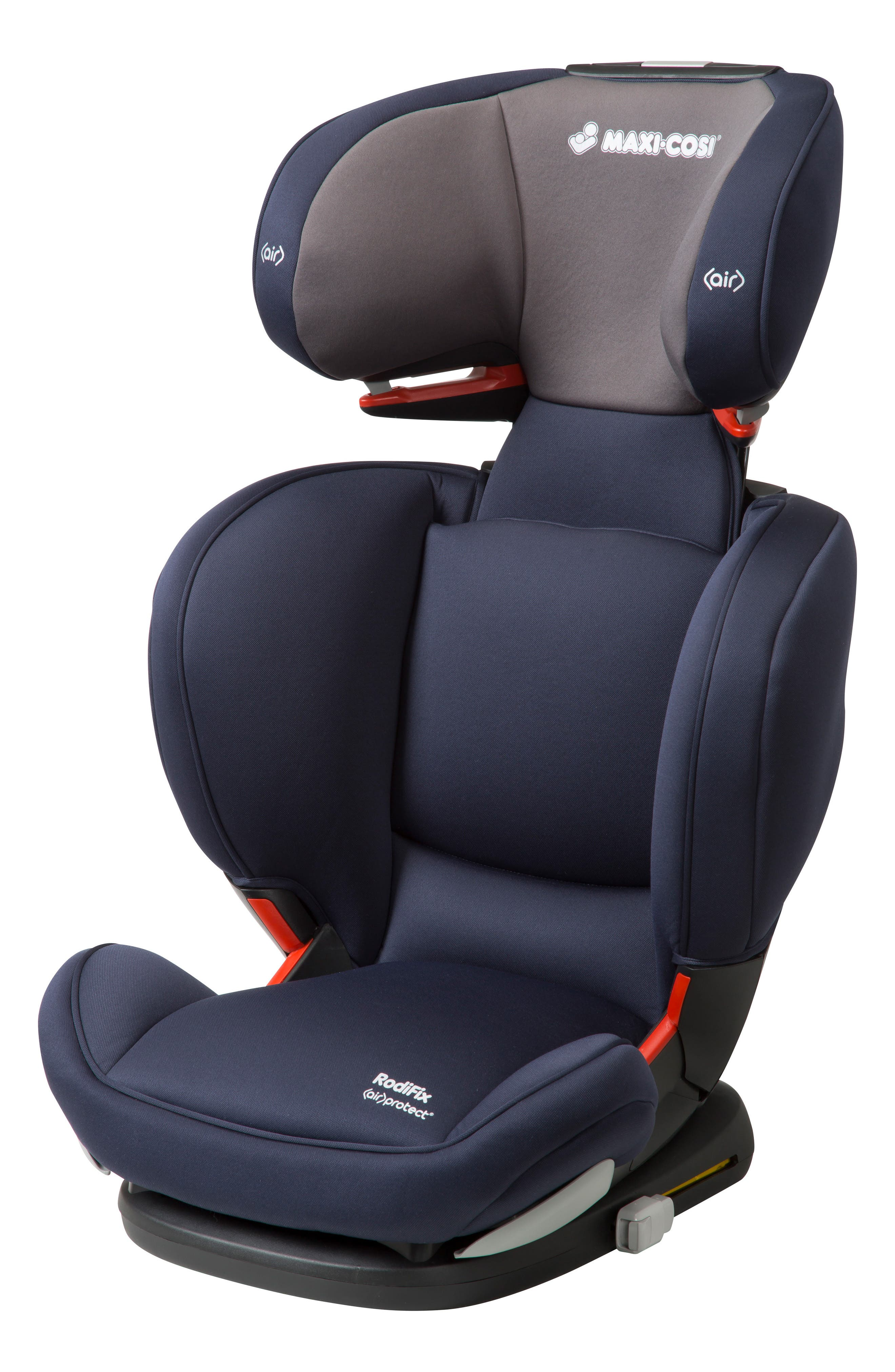RodiFix Booster Car Seat,                             Alternate thumbnail 3, color,                             Navy