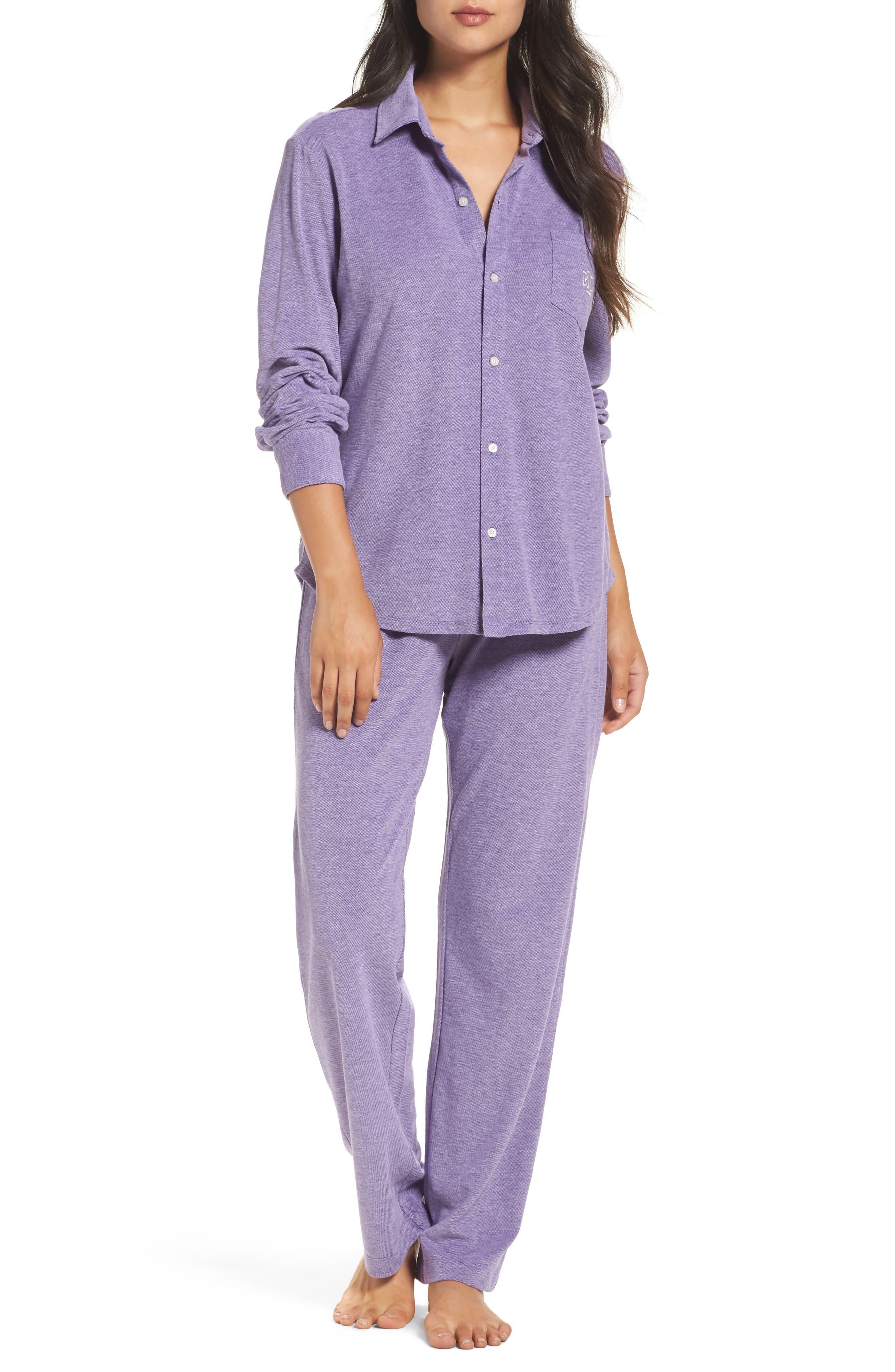 Lauren Ralph Lauren Long Pajamas