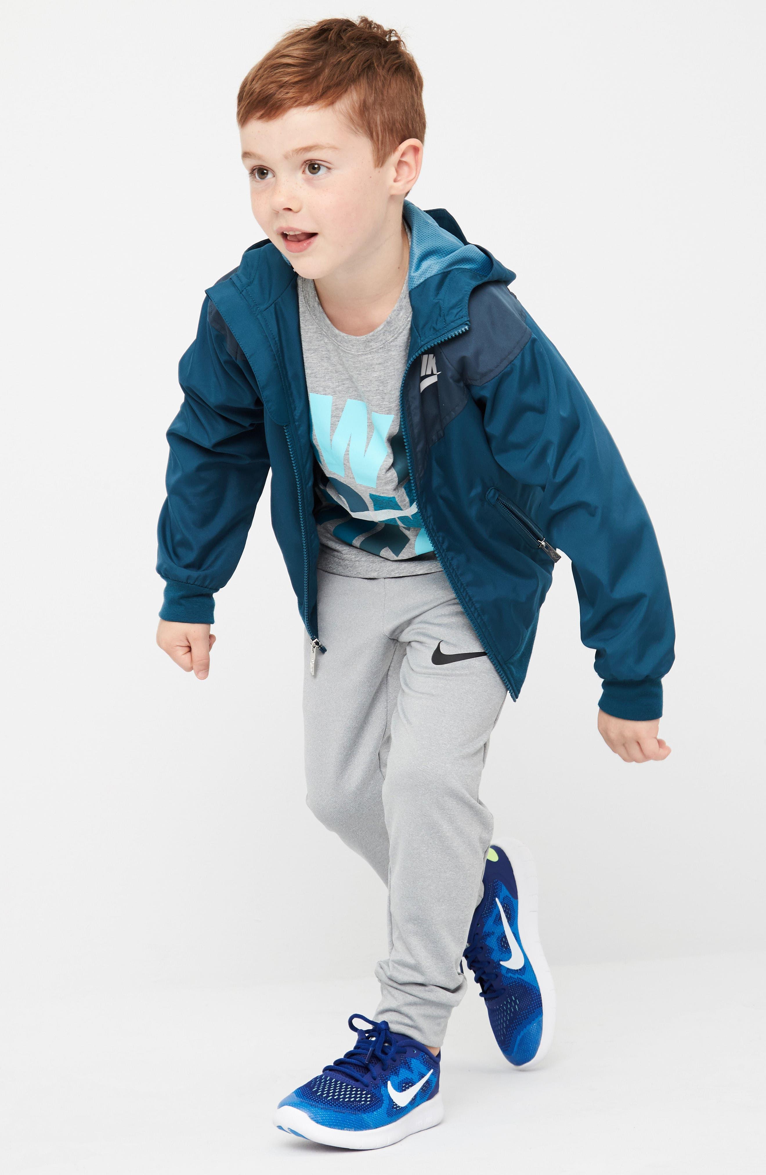 Windrunner Water Resistant Hooded Jacket,                             Alternate thumbnail 3, color,