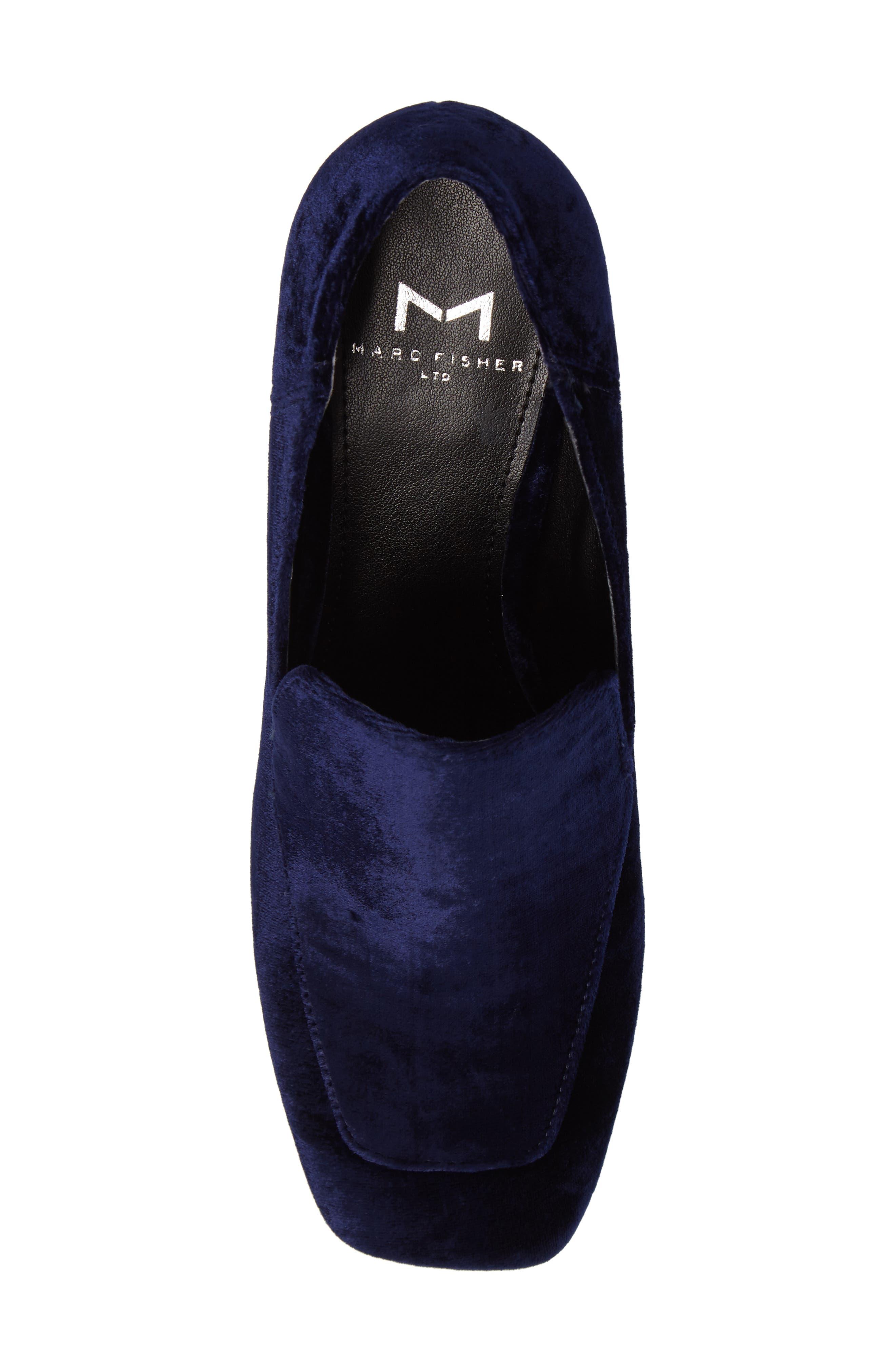 Alternate Image 5  - Marc Fisher LTD Marlo Loafer Pump (Women)
