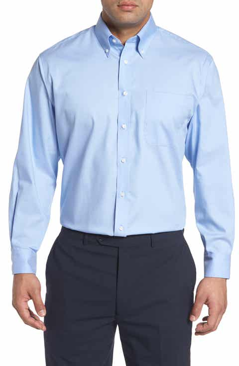 Men's Blue Button-Down Collar Dress Shirts | Nordstrom