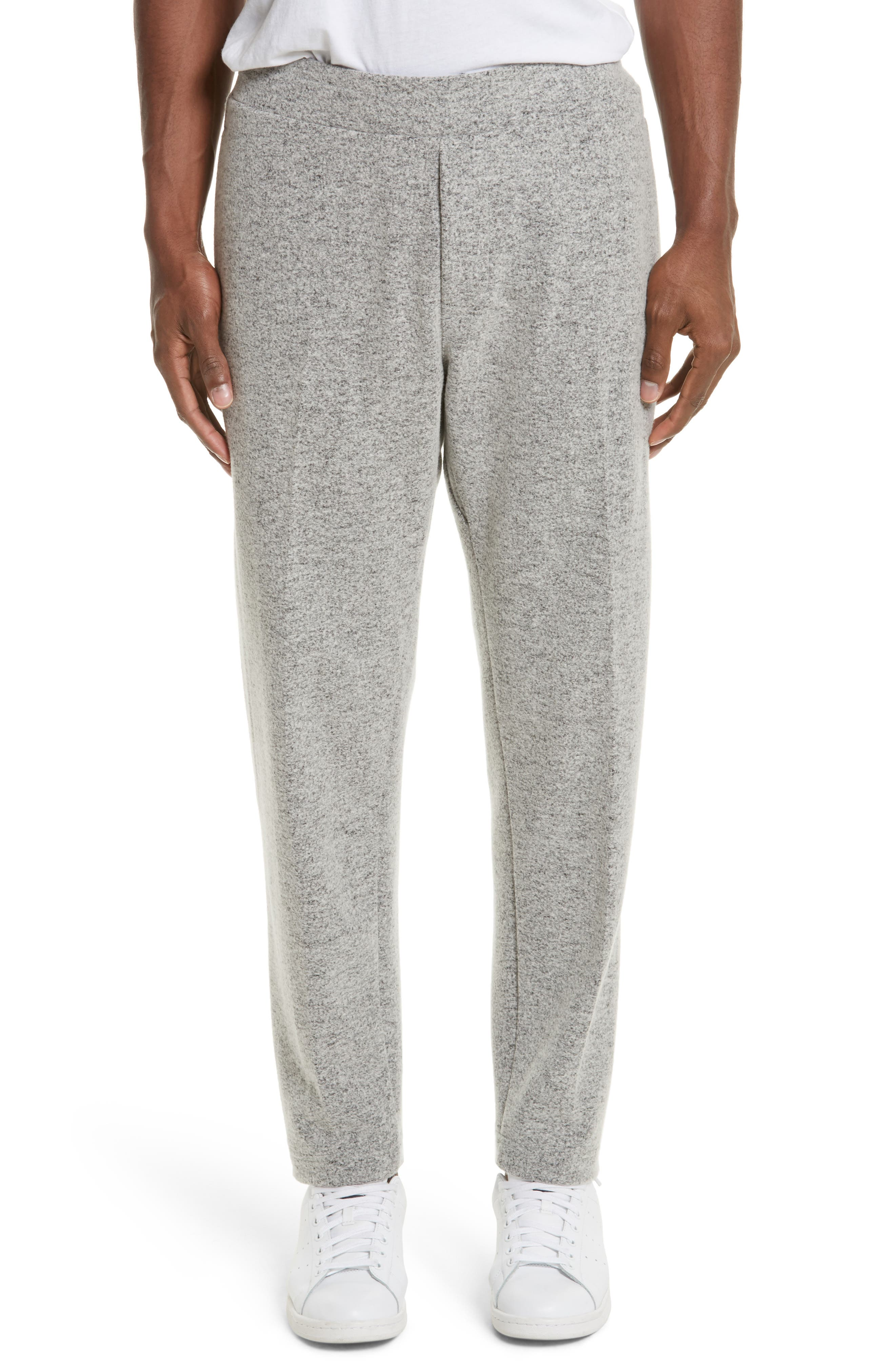 Alternate Image 1 Selected - wings + horns Officer Wool Blend Jogger Pants