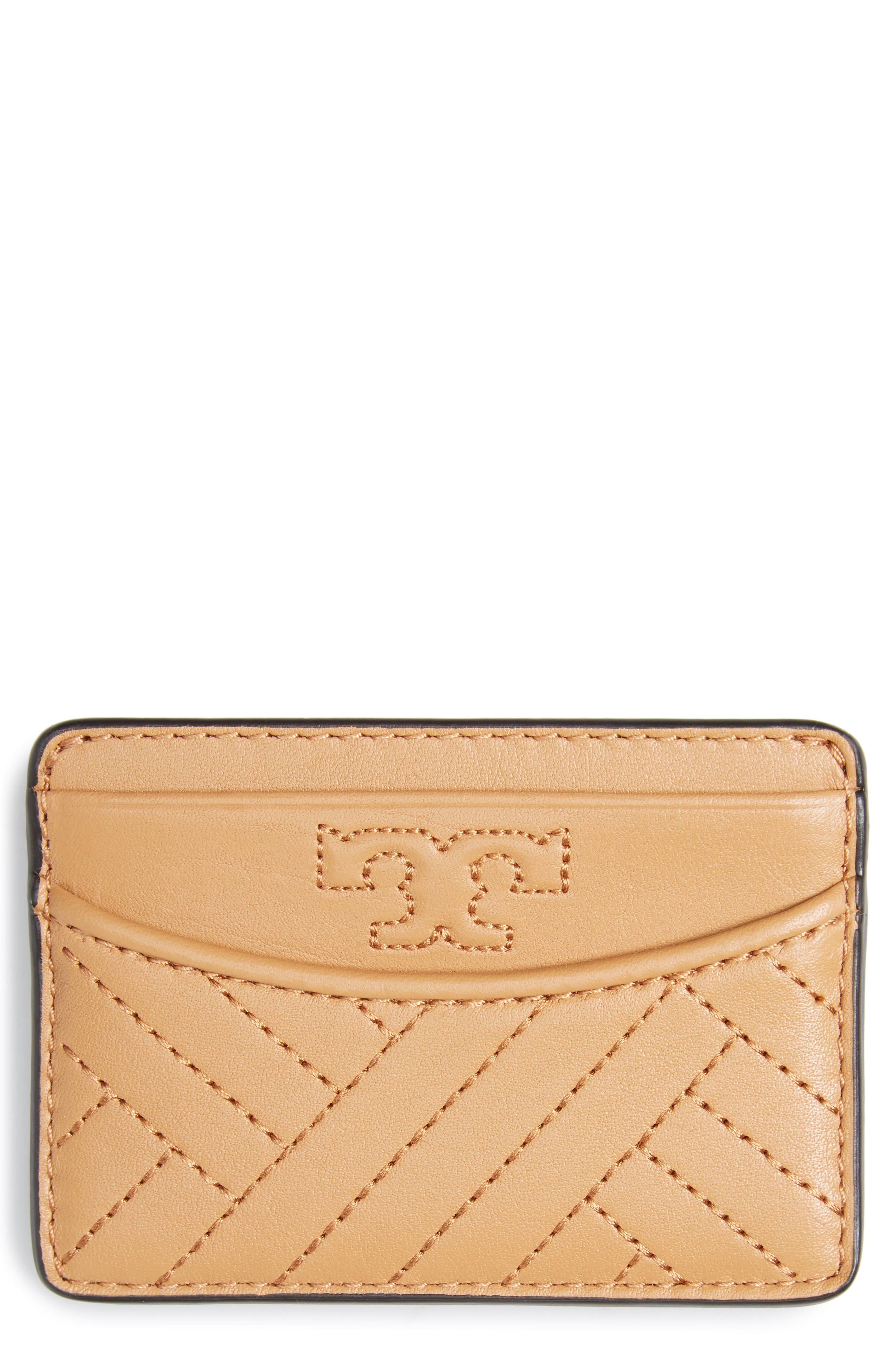 TORY BURCH Alexa Slim Leather Card Case