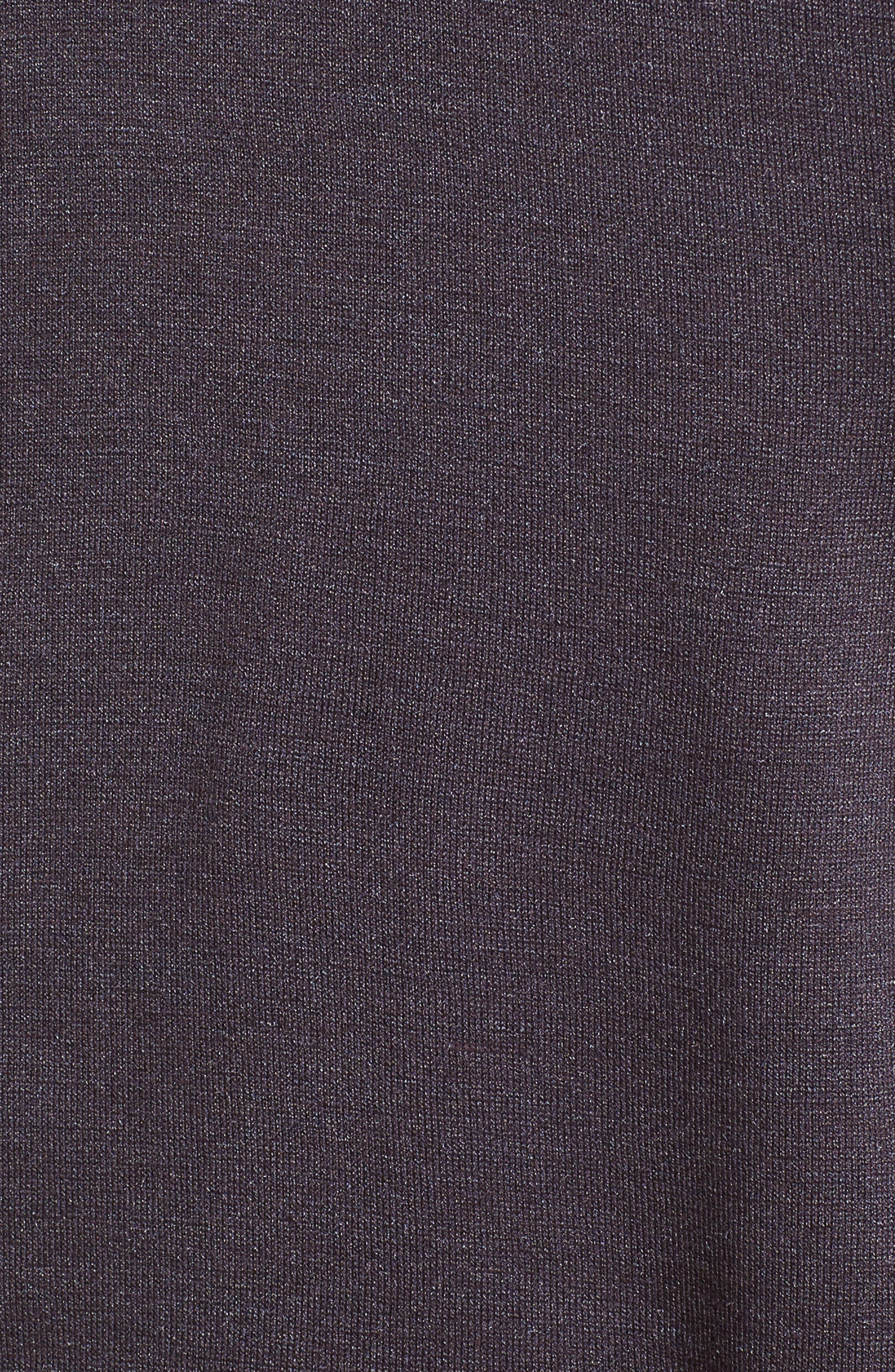 Hampton Silk Blend Polo,                             Alternate thumbnail 5, color,                             Dried Berry